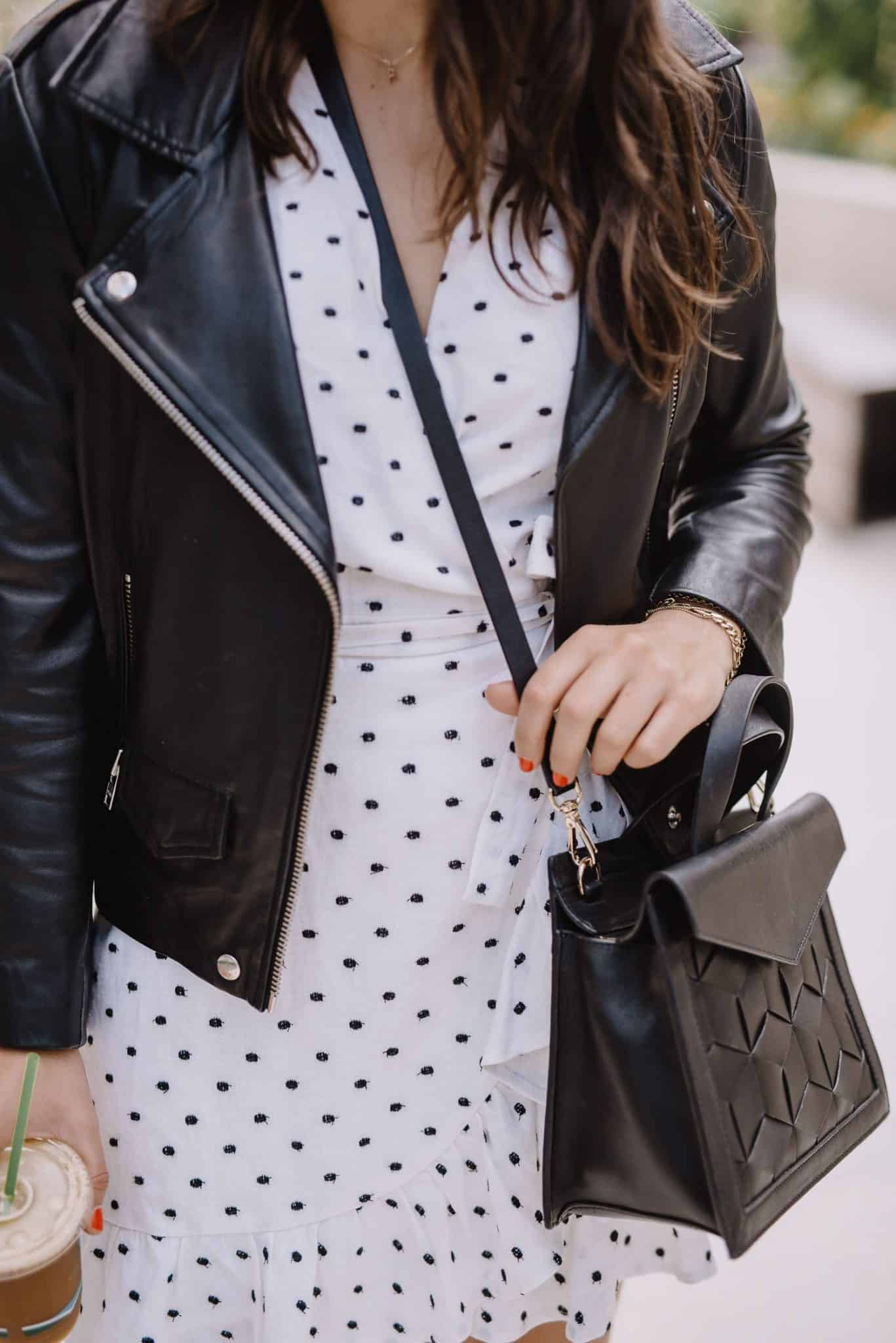 black leather jacket - My Style Vita
