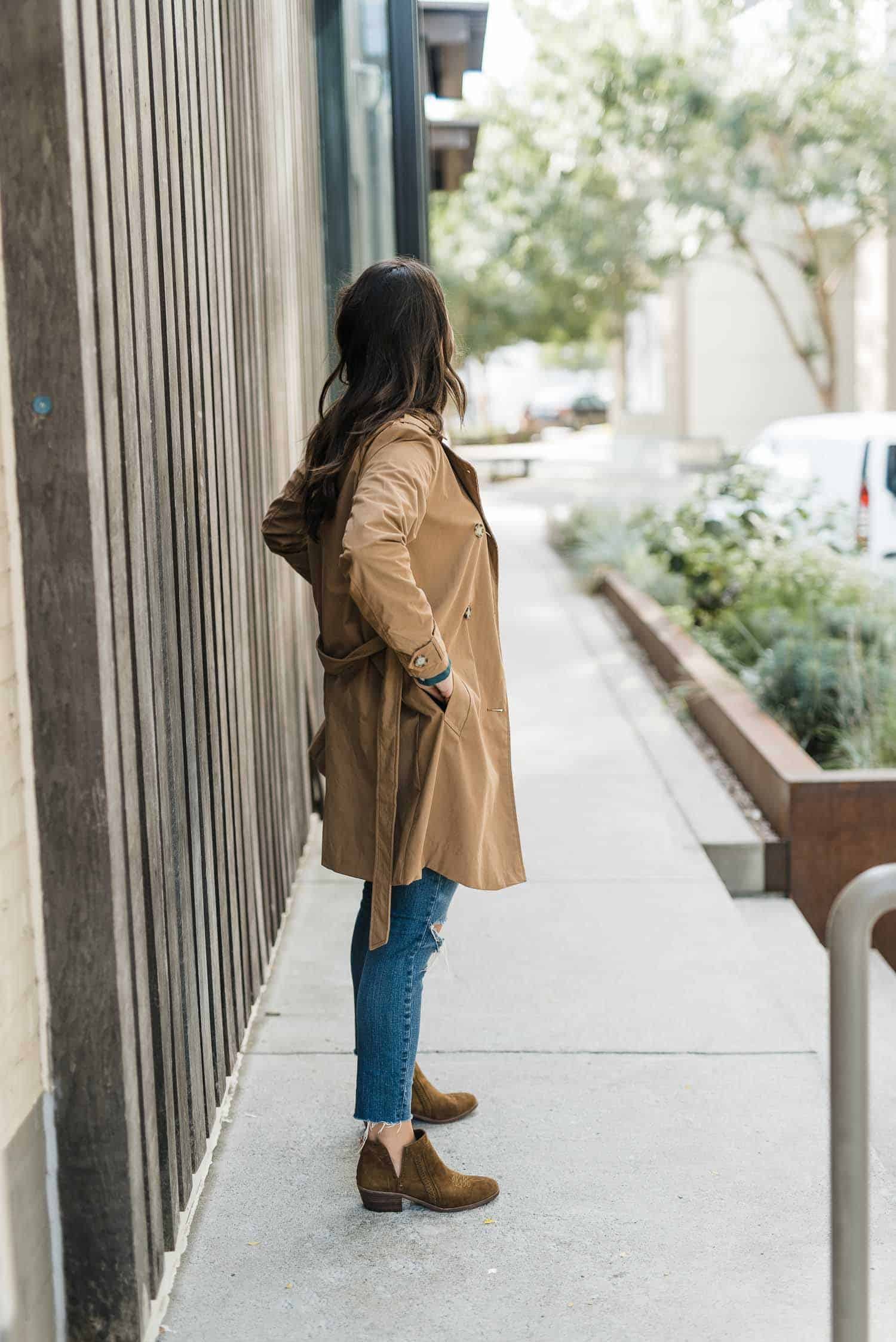 western trend, trench coat, outfit ideas - My Style Vita
