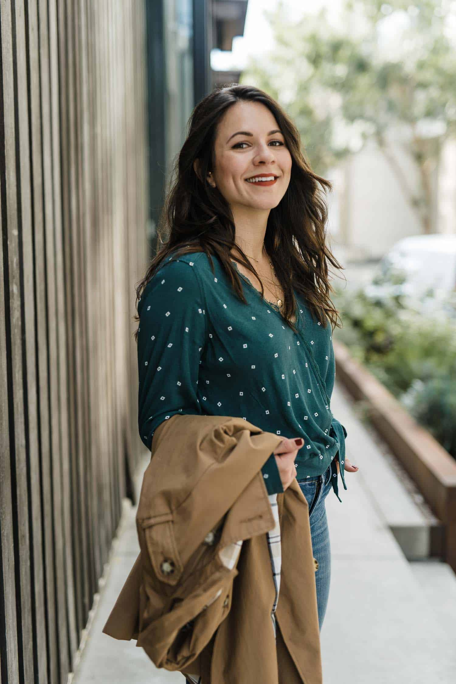 wrap top, fall fashion ideas - My Style Vita