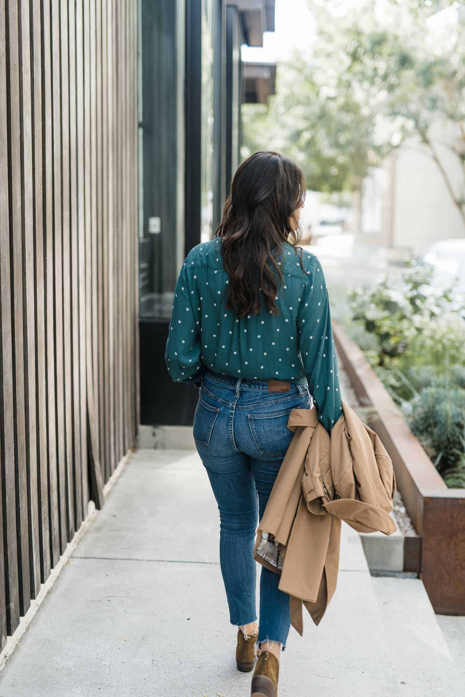 wrap top, outfit ideas for jeans - My Style Vita