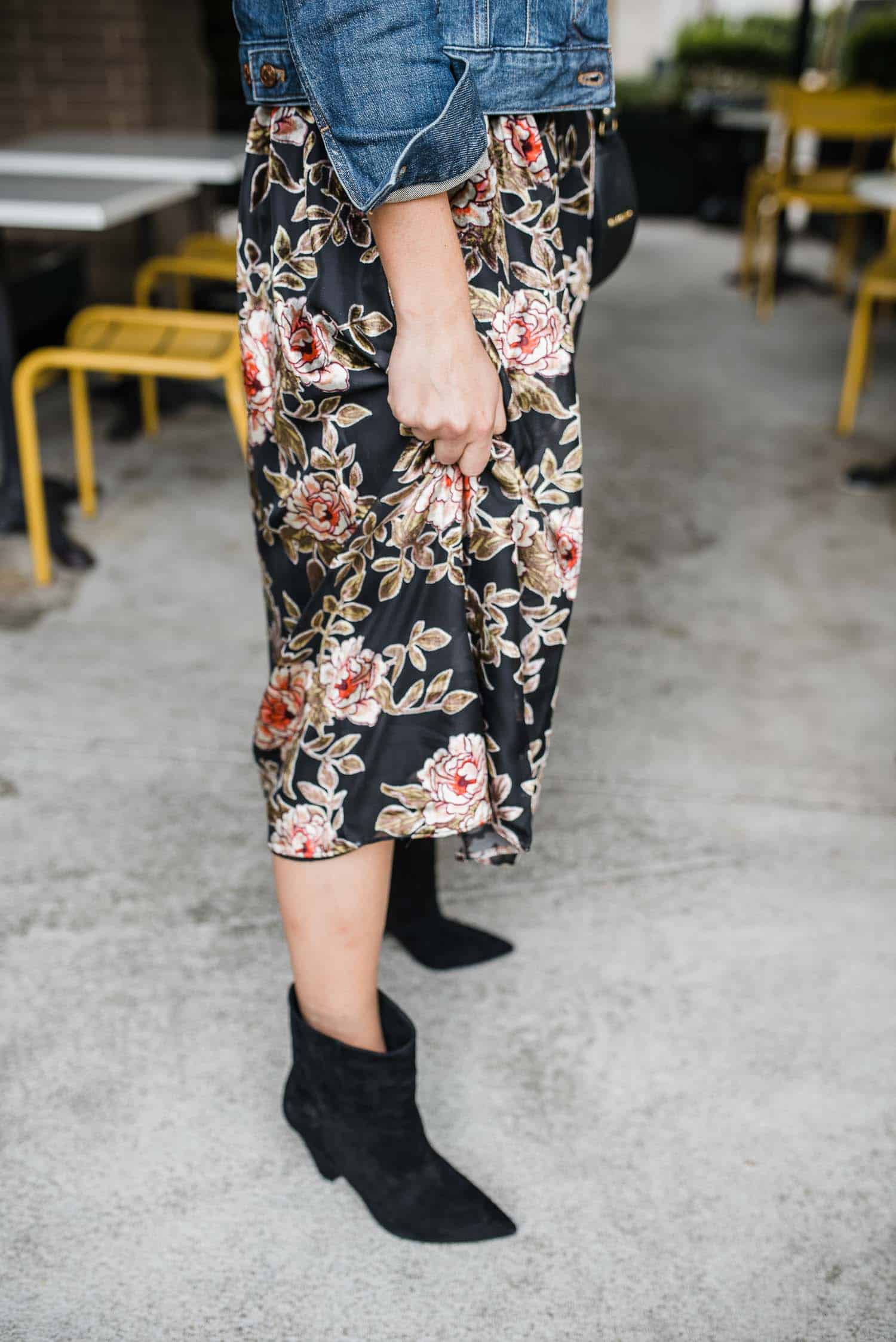 Vince Camuto Regina Boot & Why Your Closet Needs A Fall Midi Dress