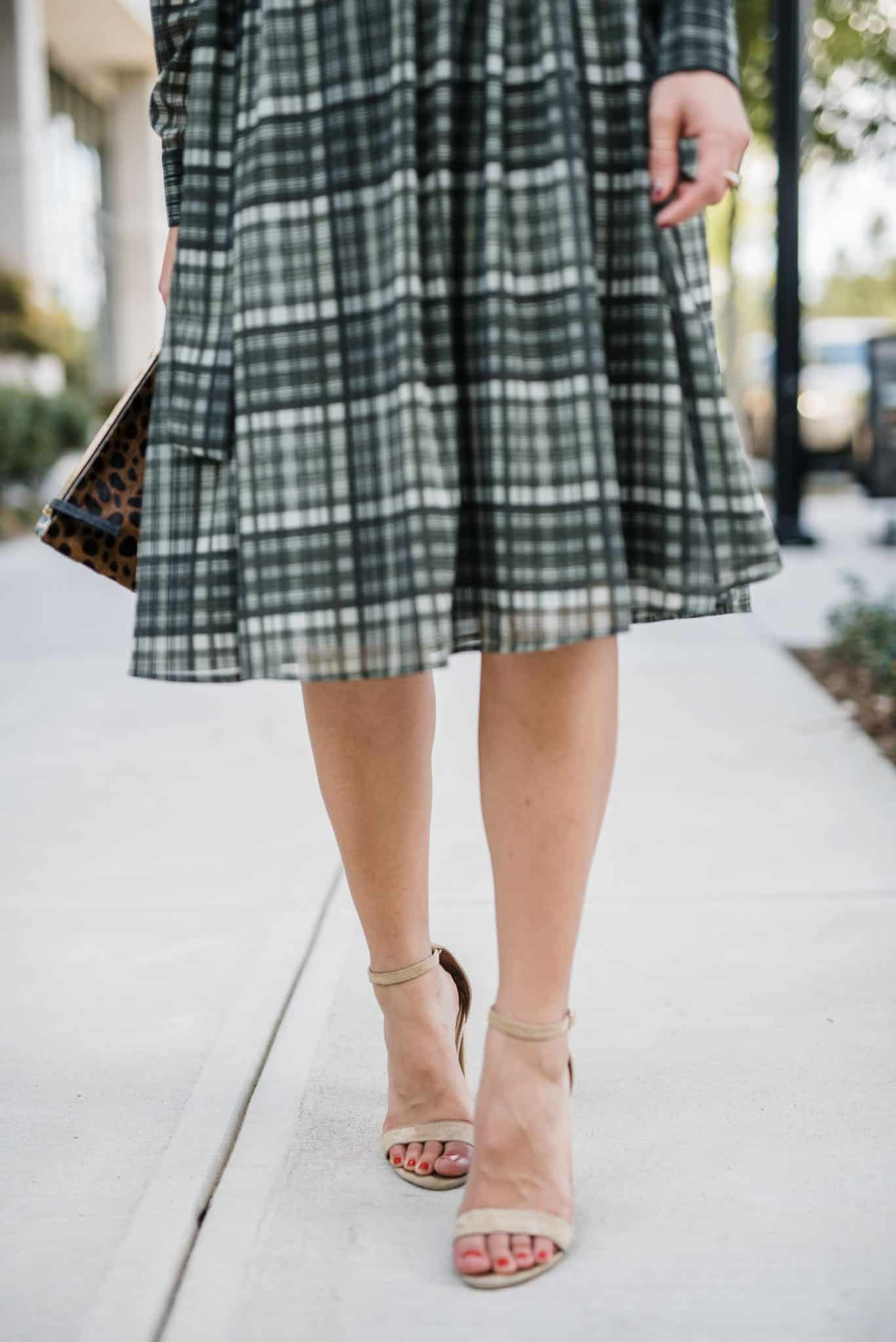 plaid shirtdress - My Style Vita