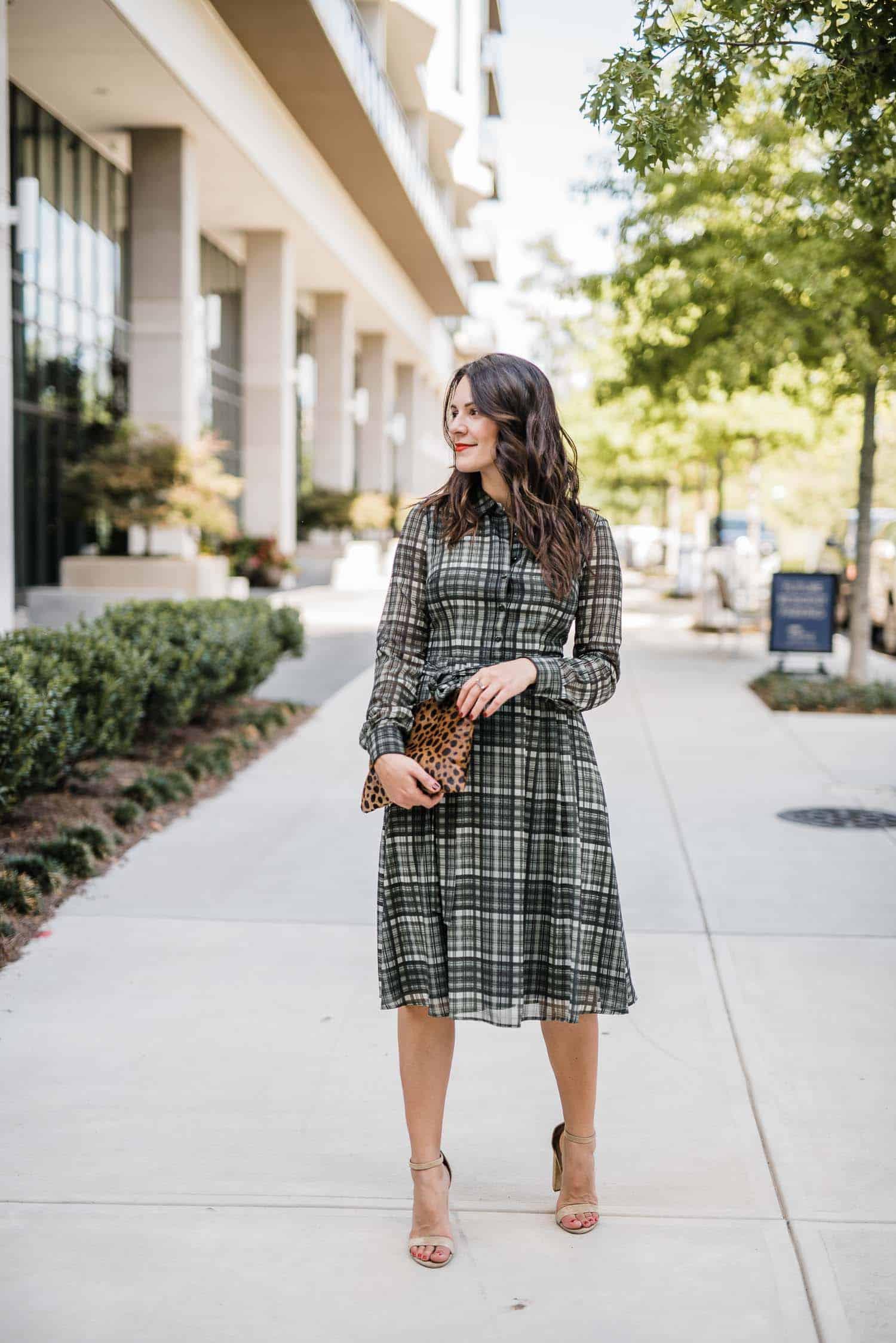 plaid shirtdress - My Style Vita