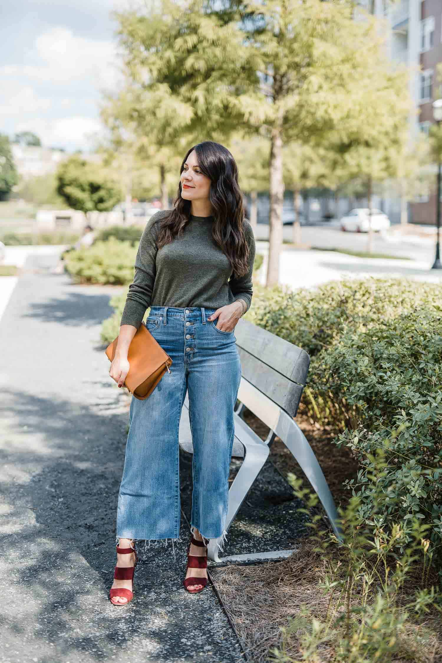 Wide leg cropped jeans - MY Style Vita