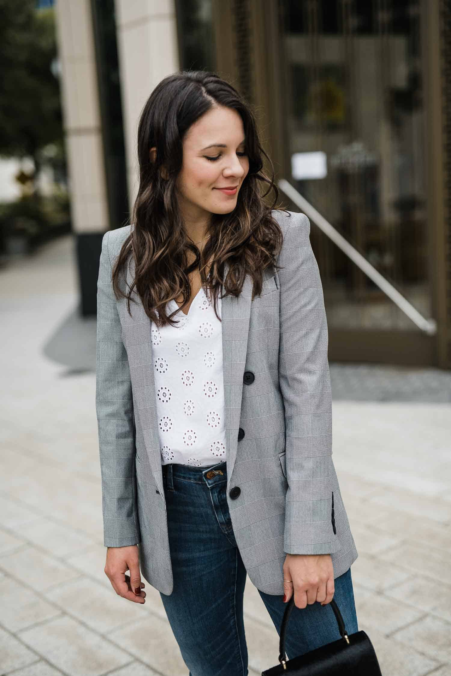 blazer for fall, fall oversized blazer, fall outfit ideas - My Style Vita