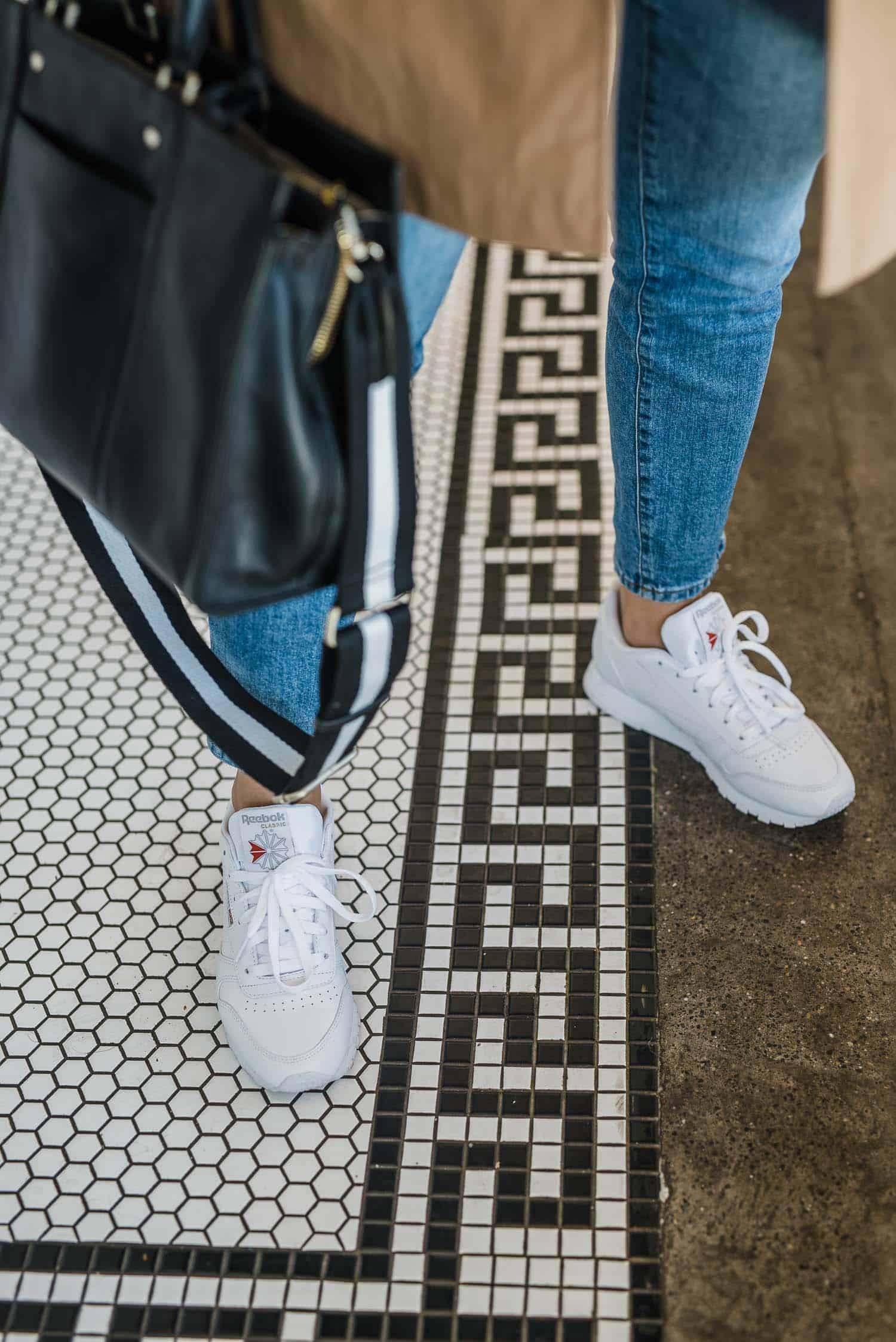 Reebok Sneakers • Radley London Bag