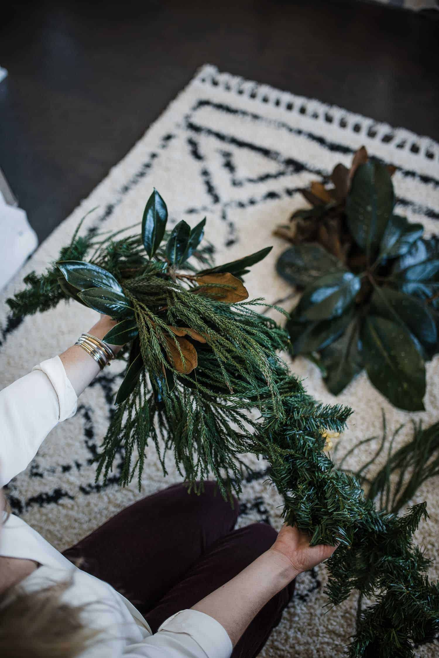 How To DIY Magnolia Garland For This Holiday Season