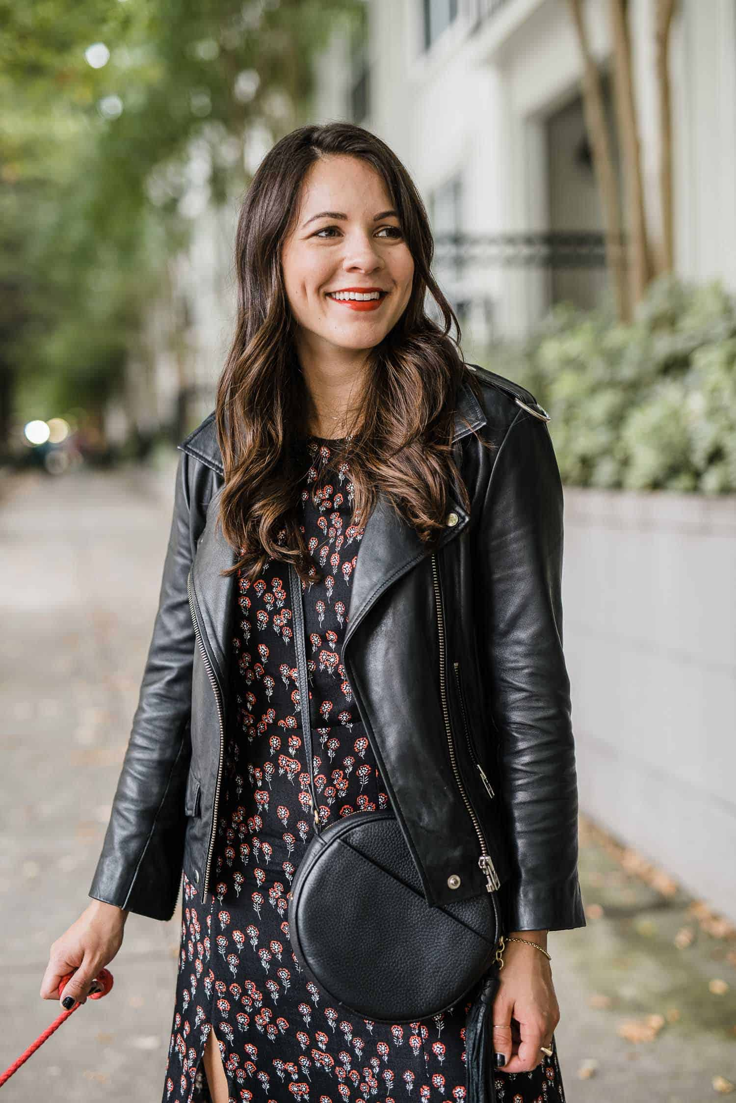 my go-to leather jacket