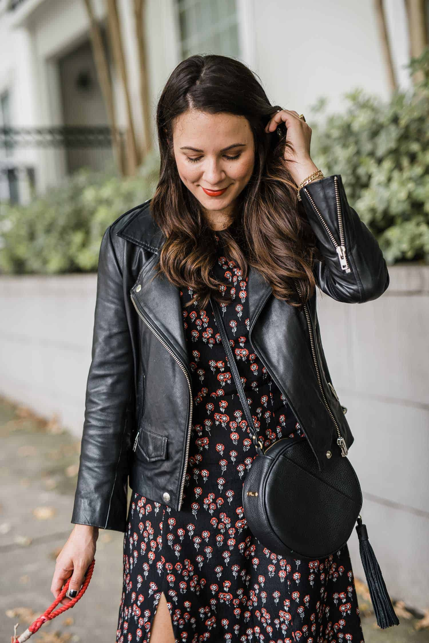 floral midi from Free People
