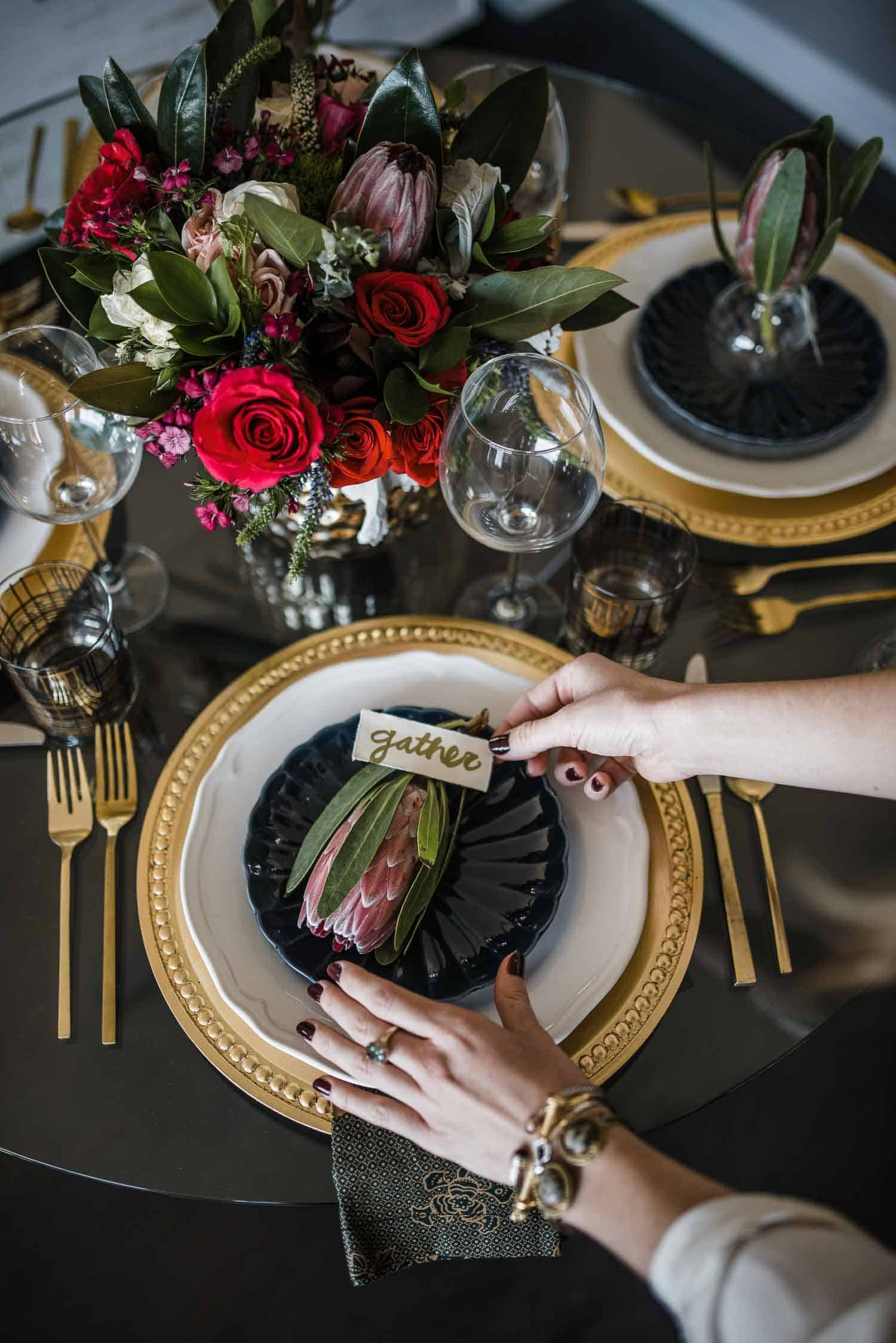 How To Set A Table The Right Way For Guests - My Style Vita