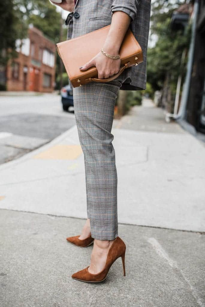 how to style a suit for fall