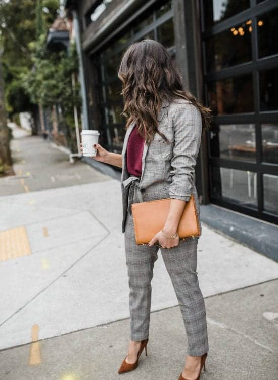 different ways to style one classic suit