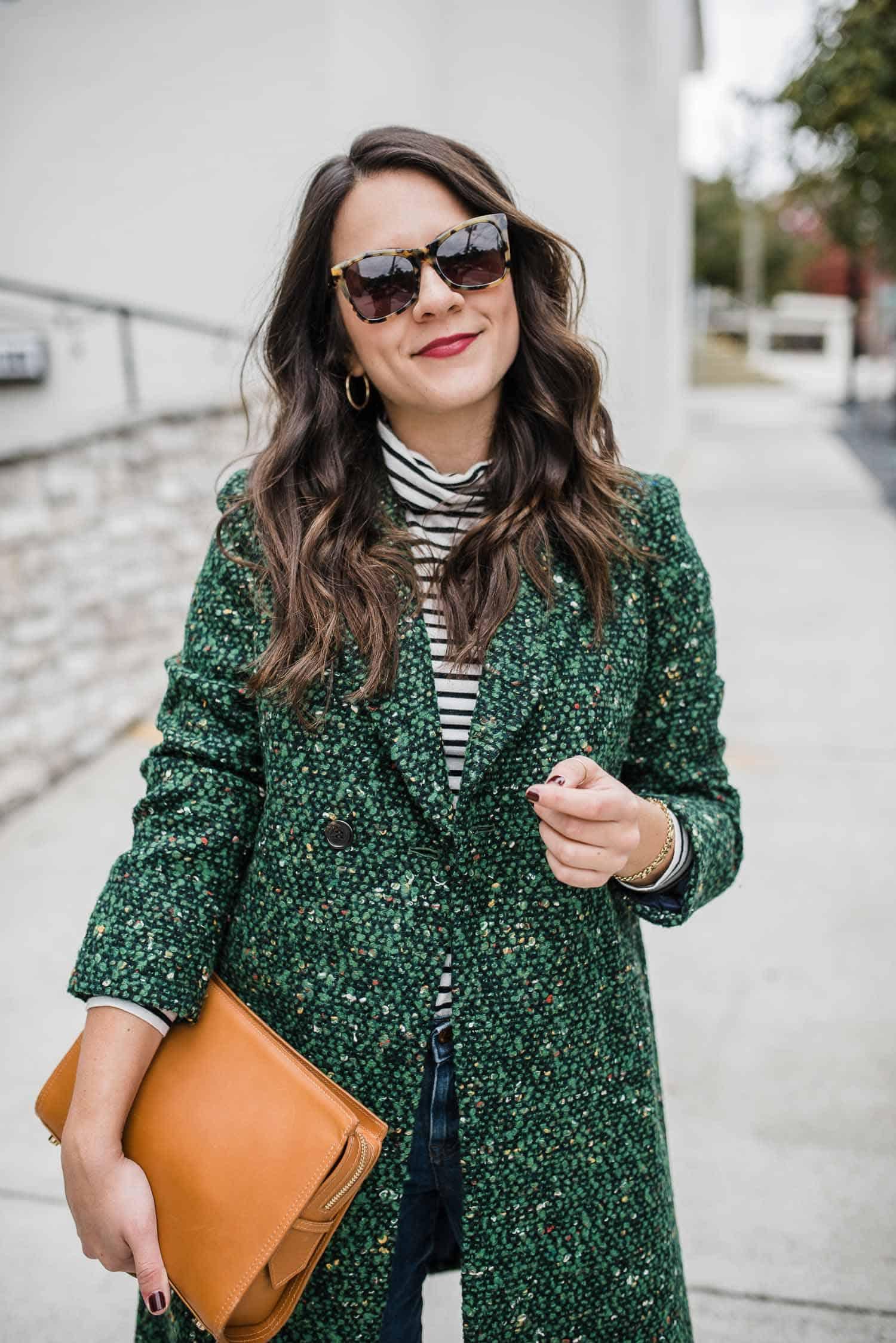 Daphne topcoat in Italian tweed J.Crew - My Style Vita