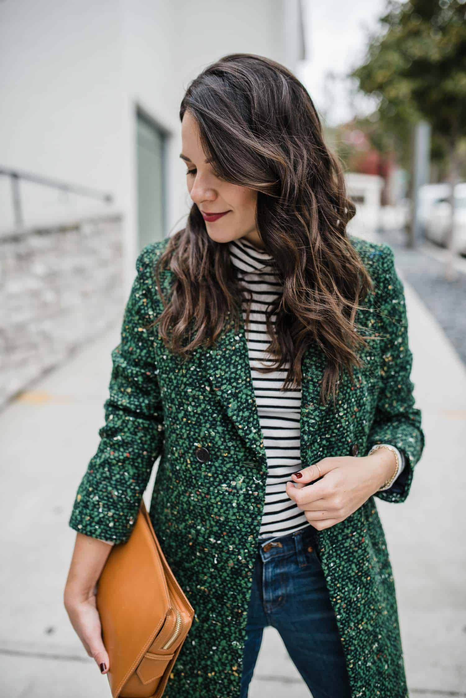 Tweed Coat J.Crew