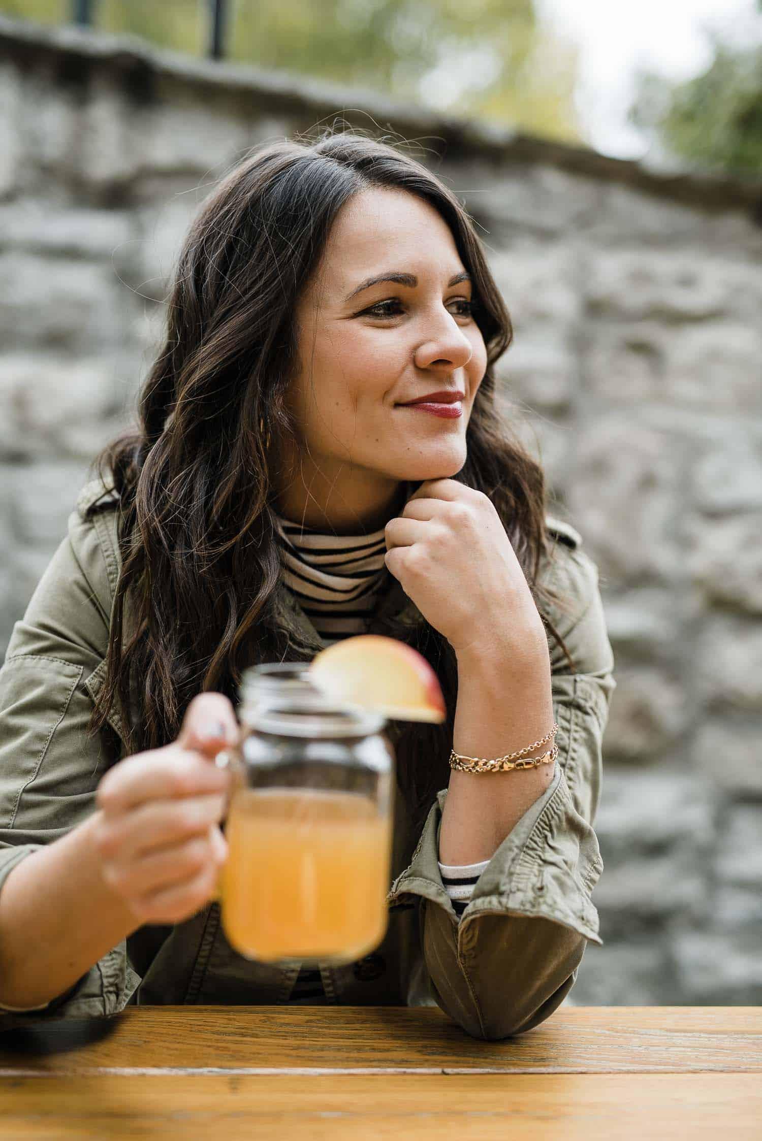 My Maple Bourbon Apple Cider Recipe - My Style Vita