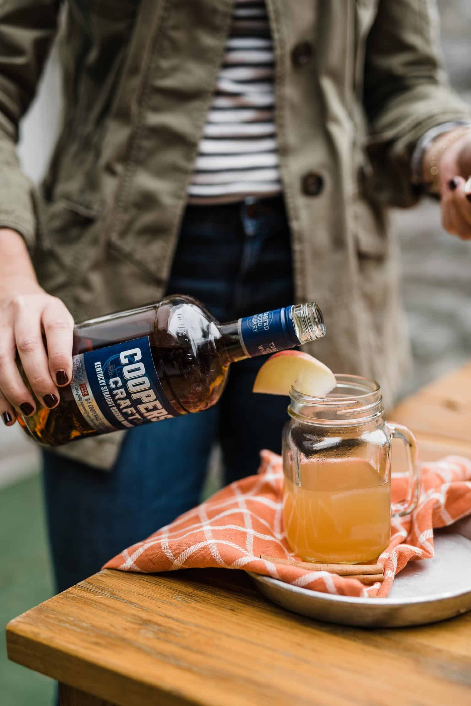 Maple Bourbon Apple Cider Punch - My Style Vita