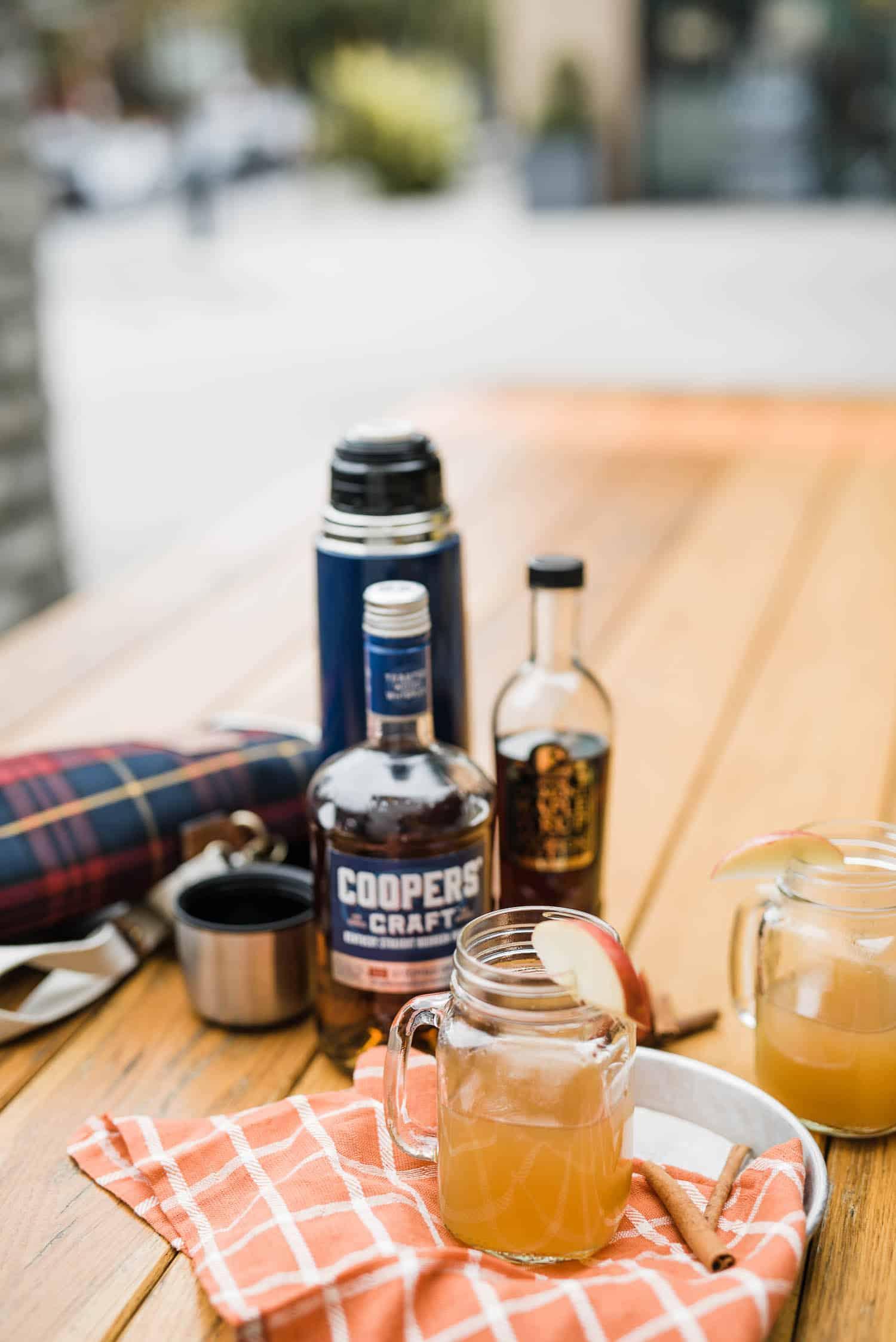 Maple Bourbon Apple Cider Recipe - My Style Vita