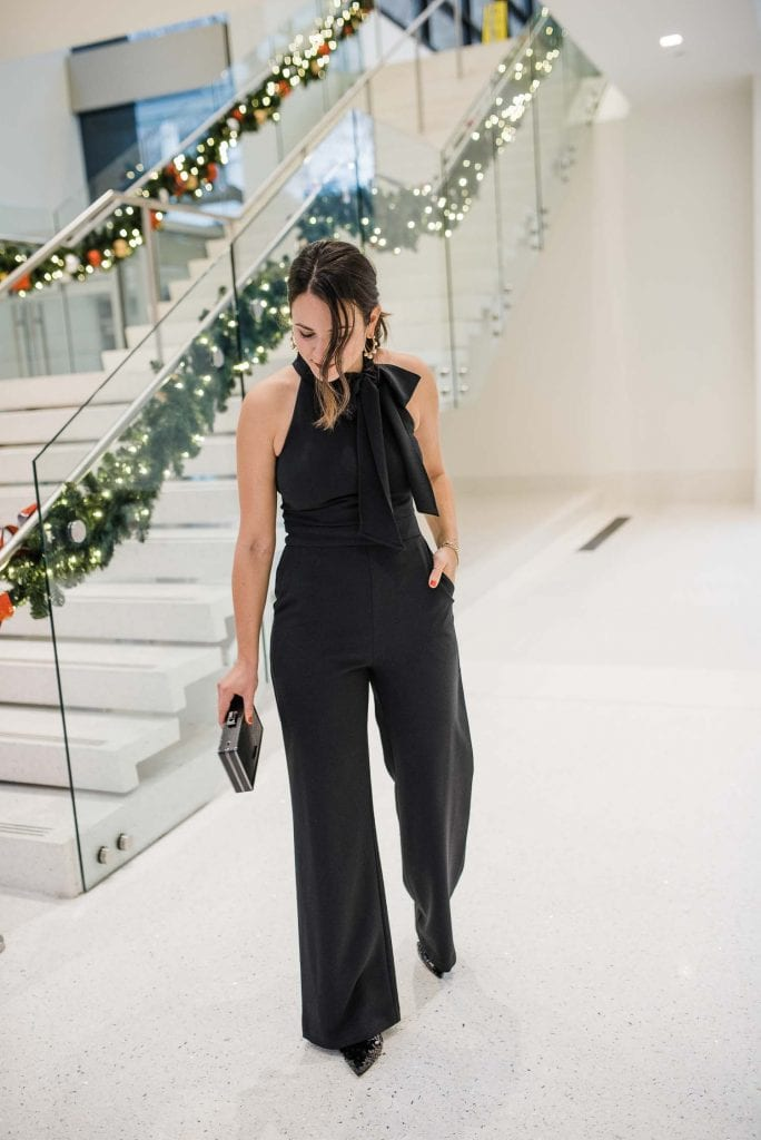 Jumpsuit • Heels • Clutch all c/o Vince Camuto - My Style Vita