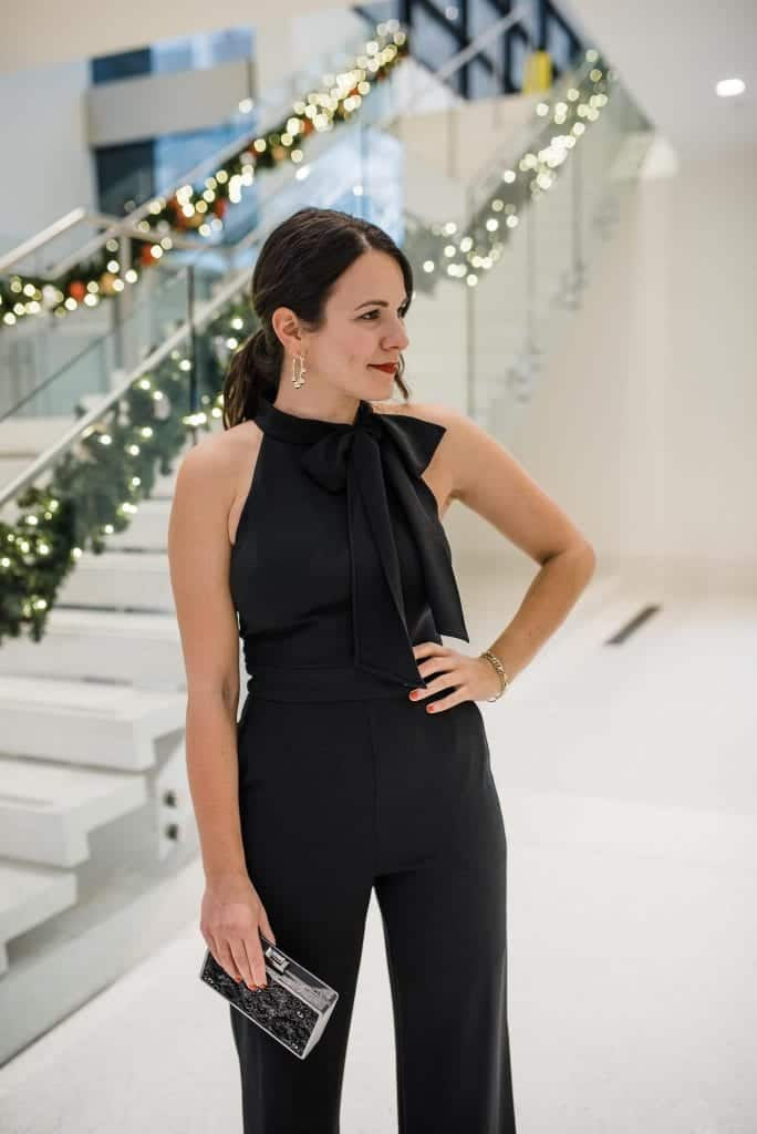 affordable black jumpsuit for nye, new years eve outfit ideas - My Style Vita-9