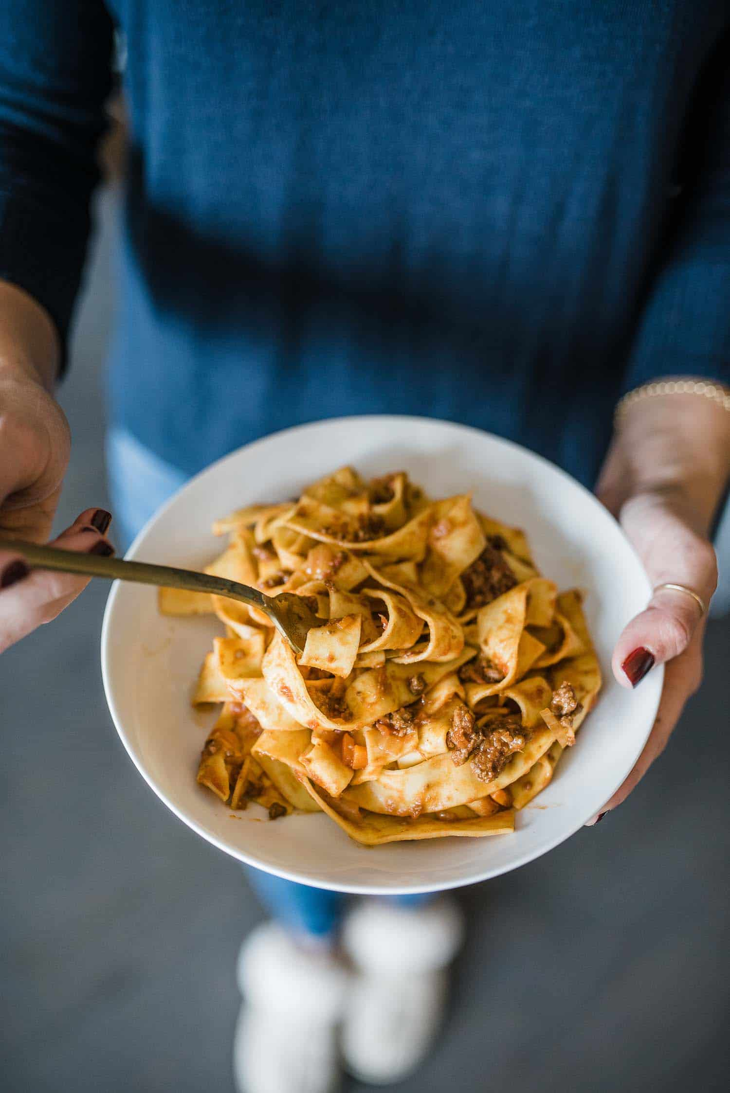 Parpadelle Bolognese To Cure Your Winter Blues