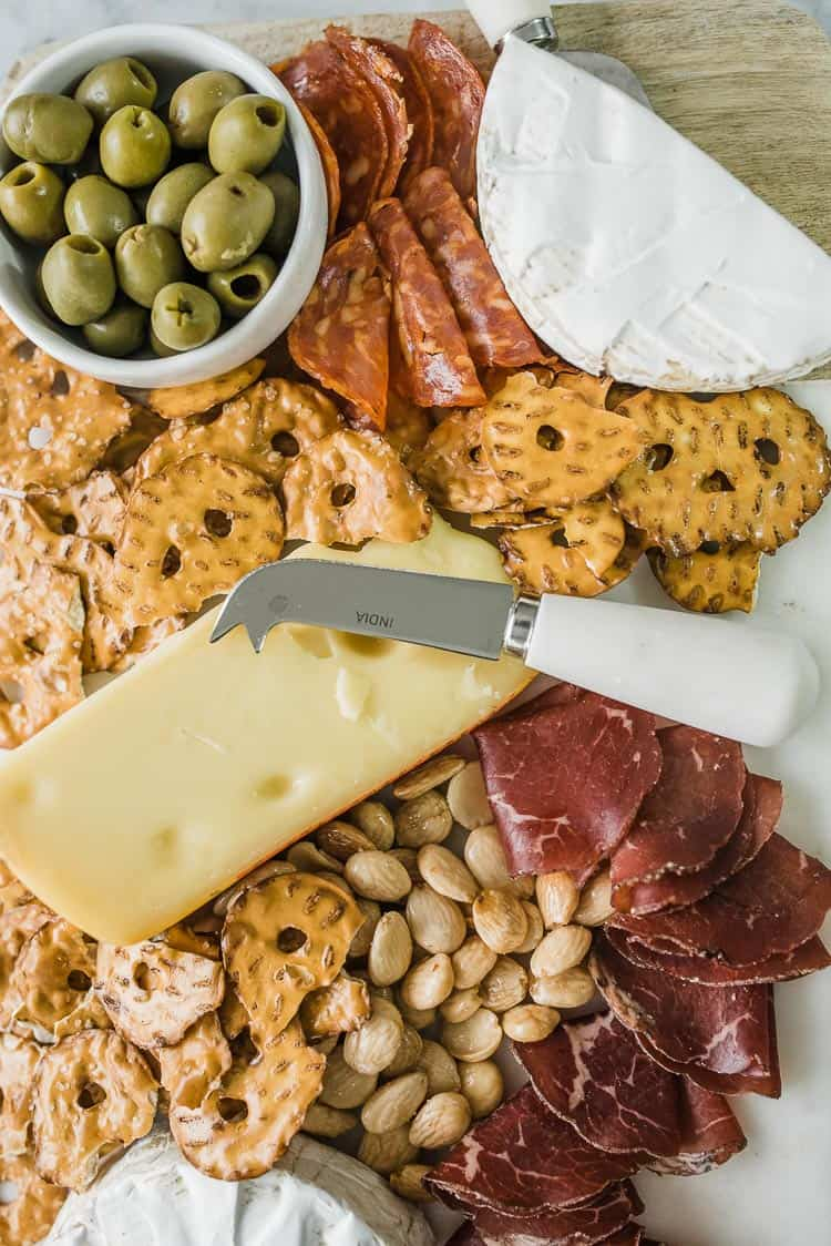 charcuterie board ideas, meat and cheese board - My Style Vita