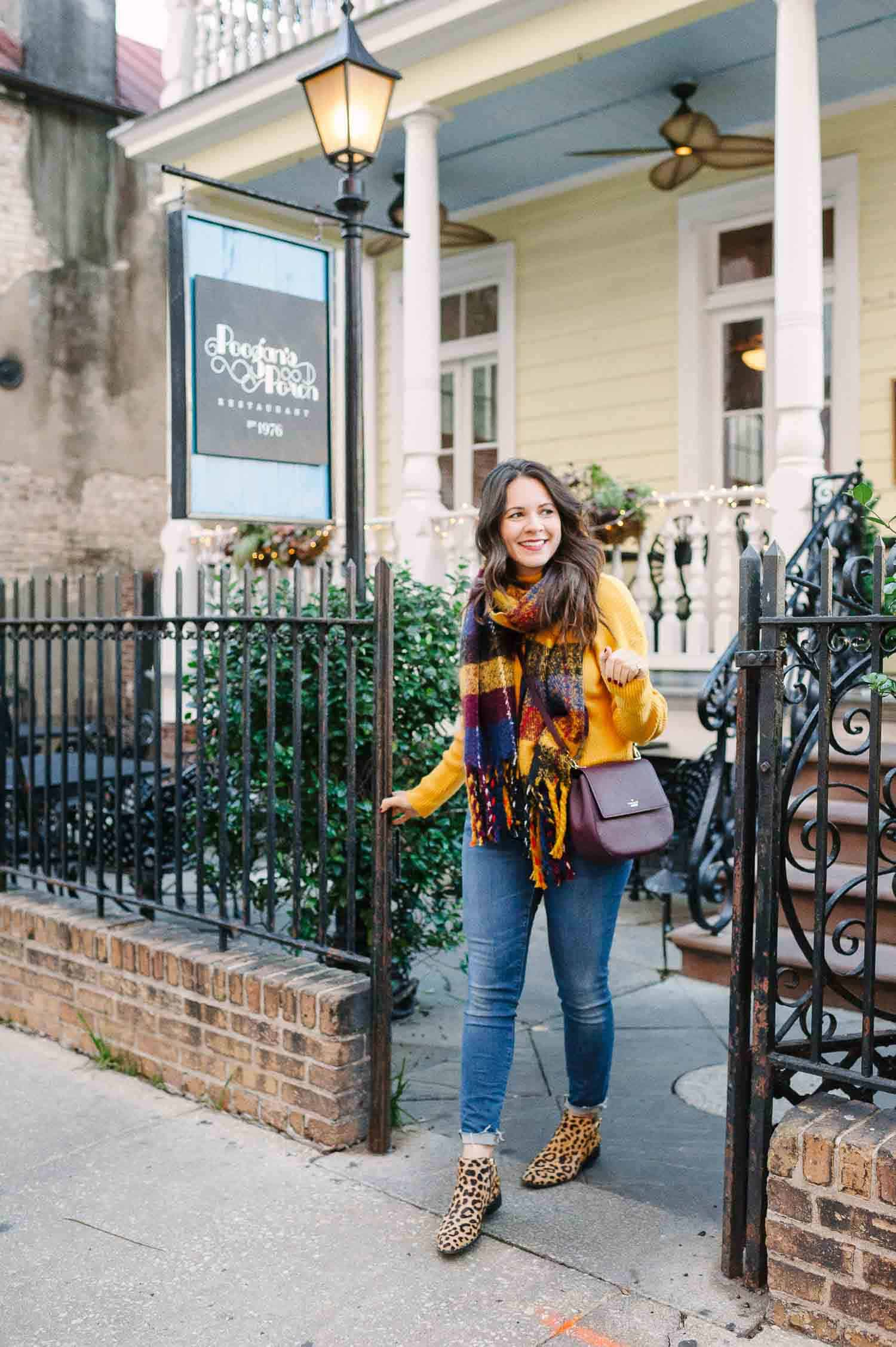 A Bold Sweater For Charming Charleston