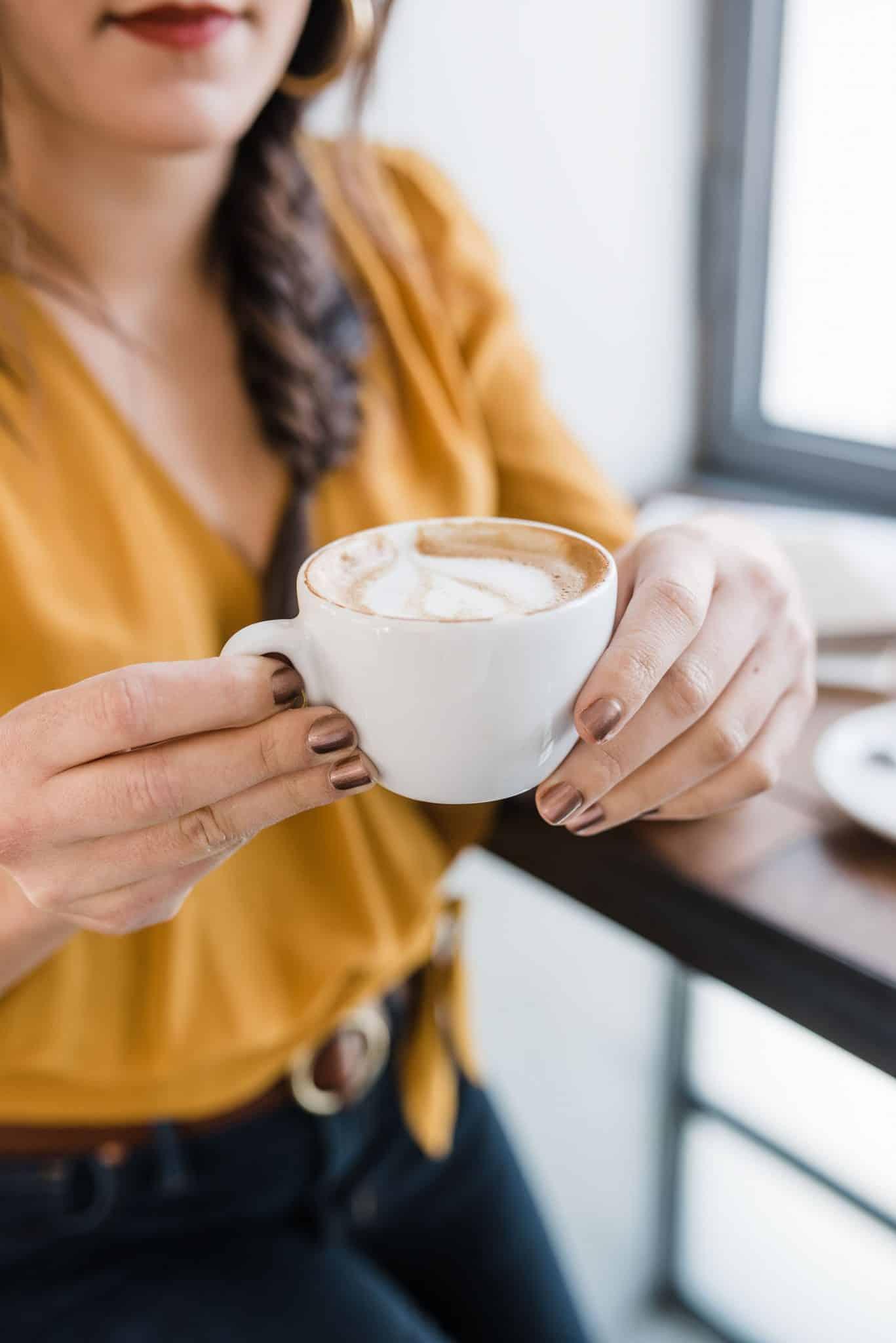 Essie Nail Polish & Coffee