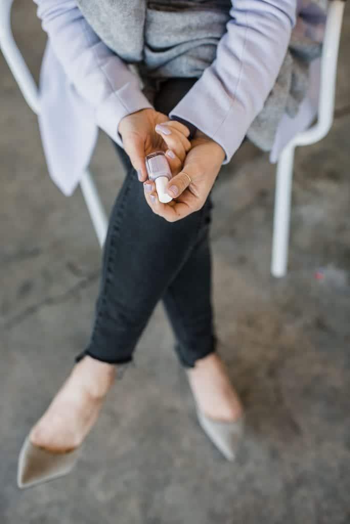 Essie lilac nail polish
