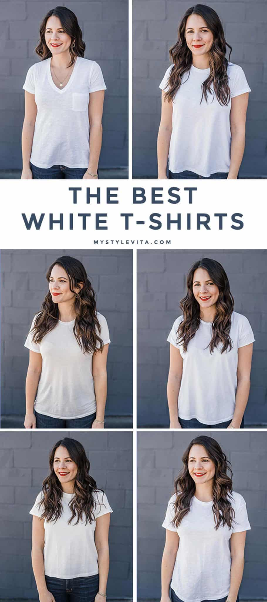 The Best White T-Shirts Review by My Style Vita