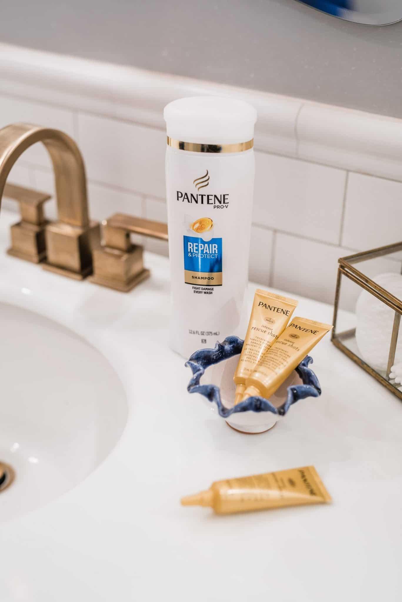 Pantene Shampoo & Pantene Pro-V Intense Rescue Shots