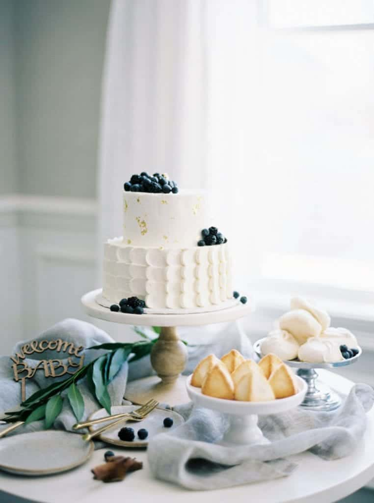 Baby Shower Dessert Table Idea