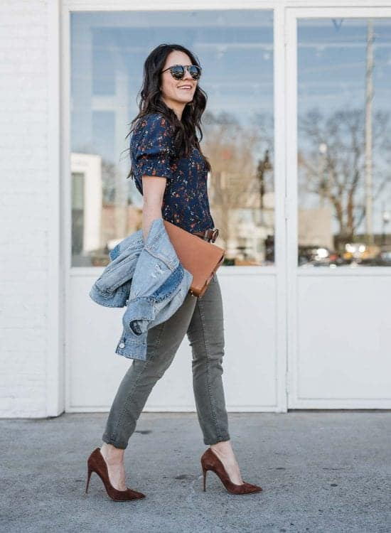 Spring outfit idea by Jessica Camerata
