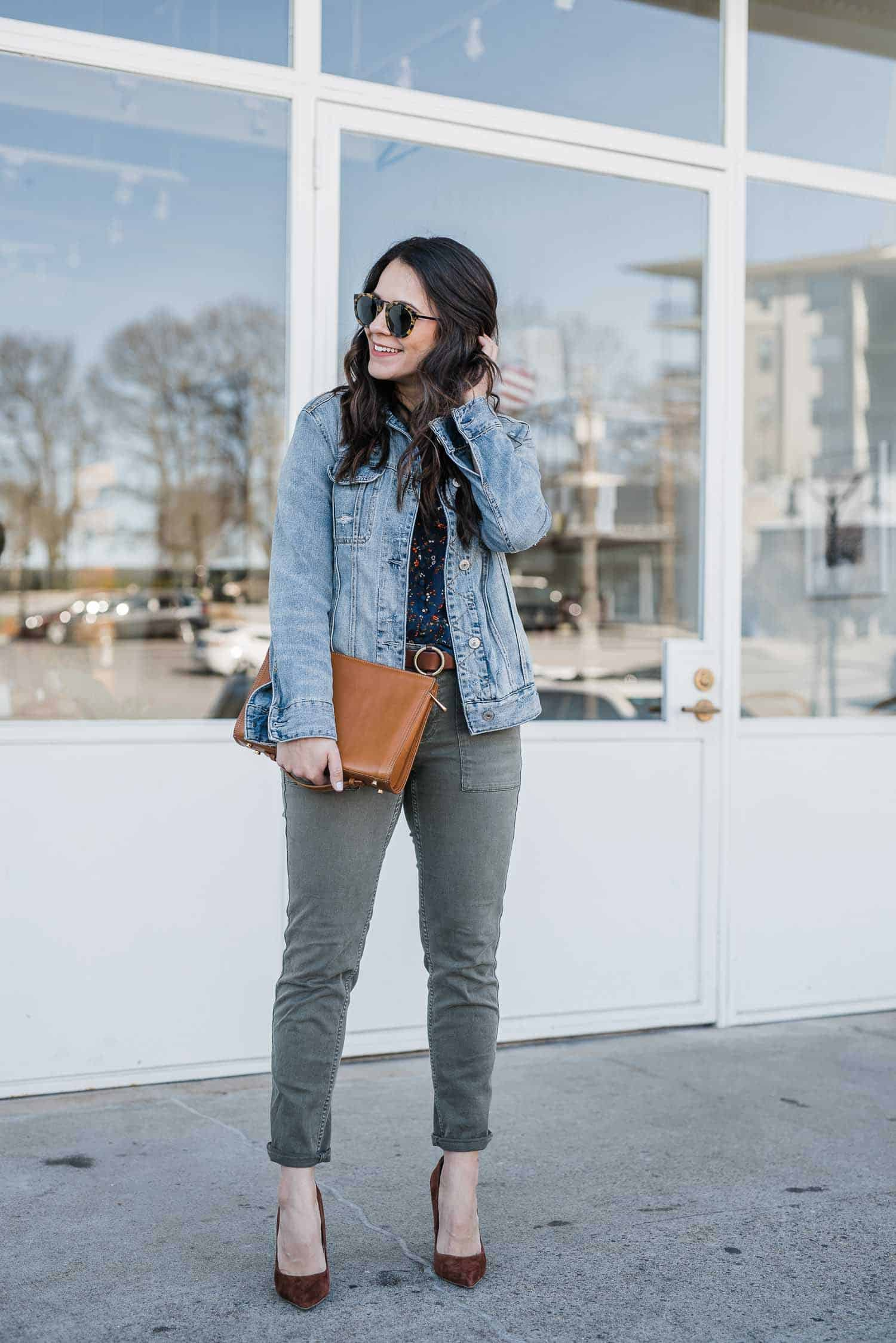 spring outfit ideas for cooler weather