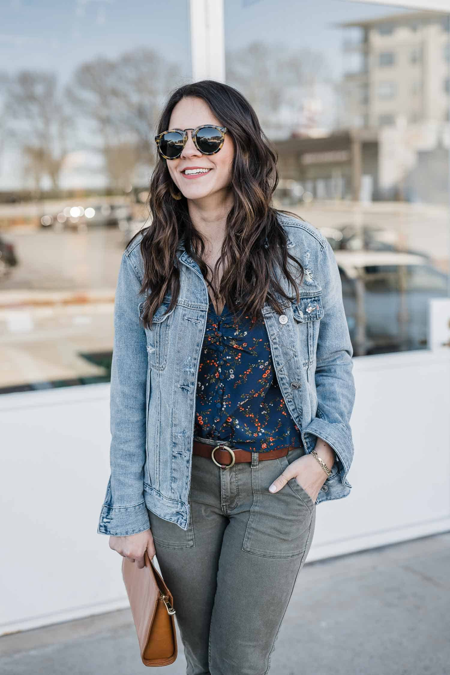 Jessica Camerata is featuring a Abercrombie Denim Girlfriend Jacket