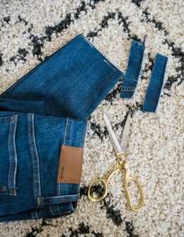 My Style Vita is featuring how to hem your jeans at home.
