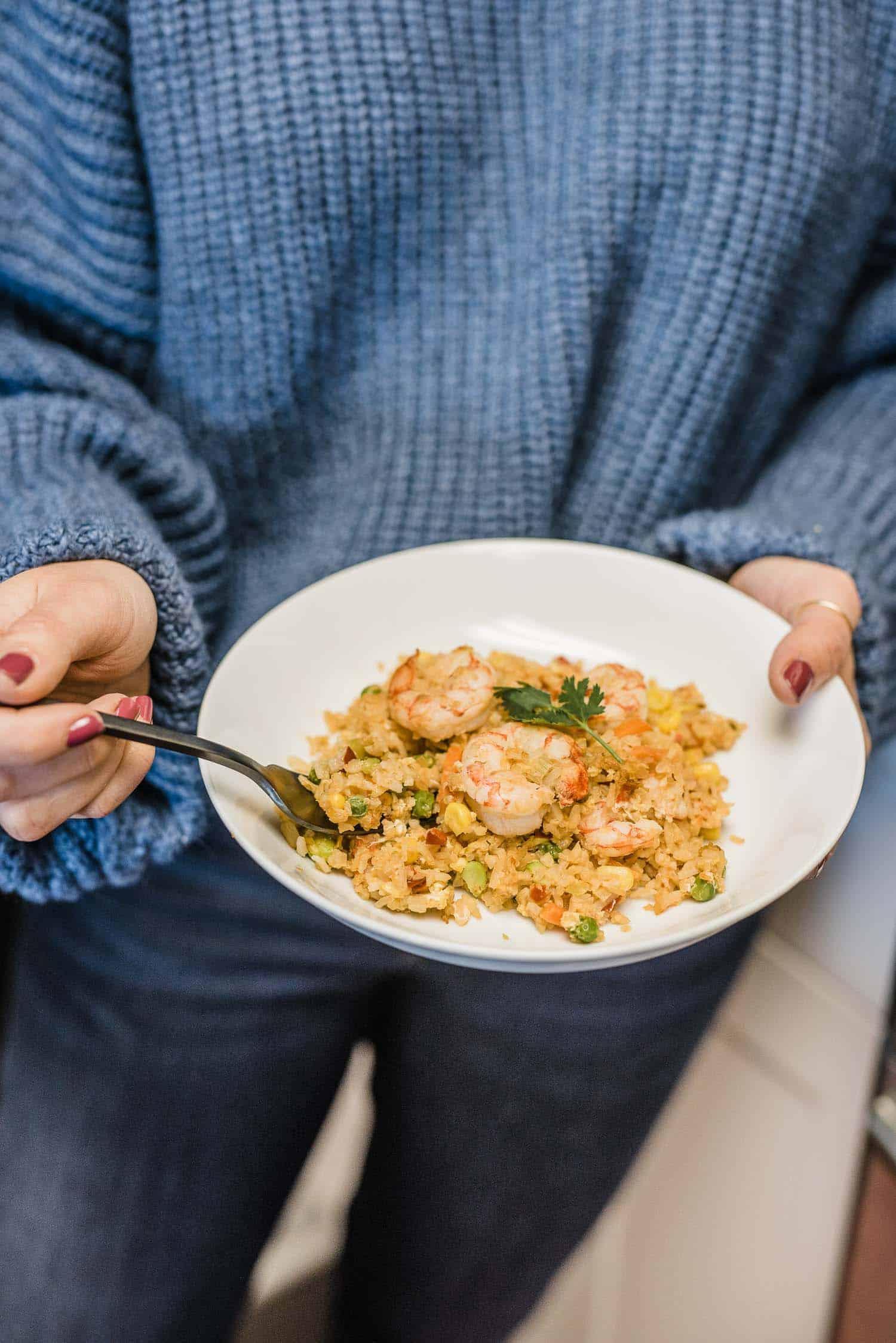 Healthy Shrimp Fried Rice Recipe