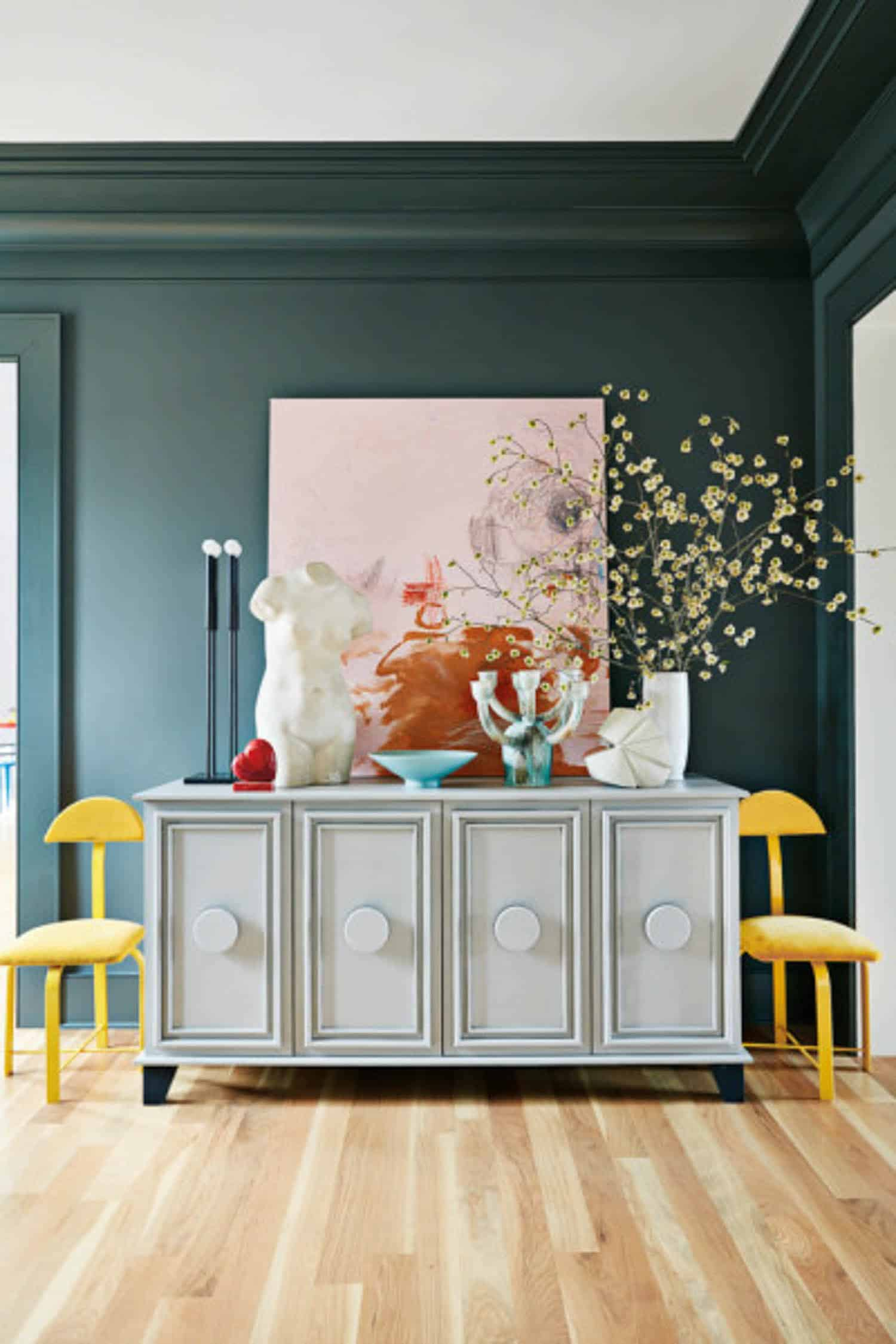 Mustard & Any Shade Of Blue decor ideas by My Style Vita