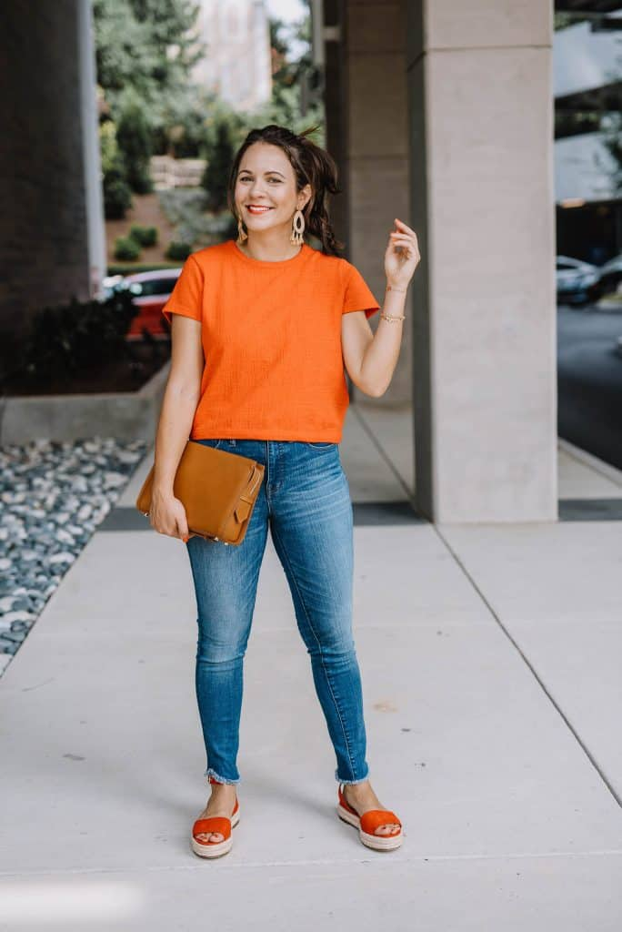 Espadrilles with Jeans Outfit