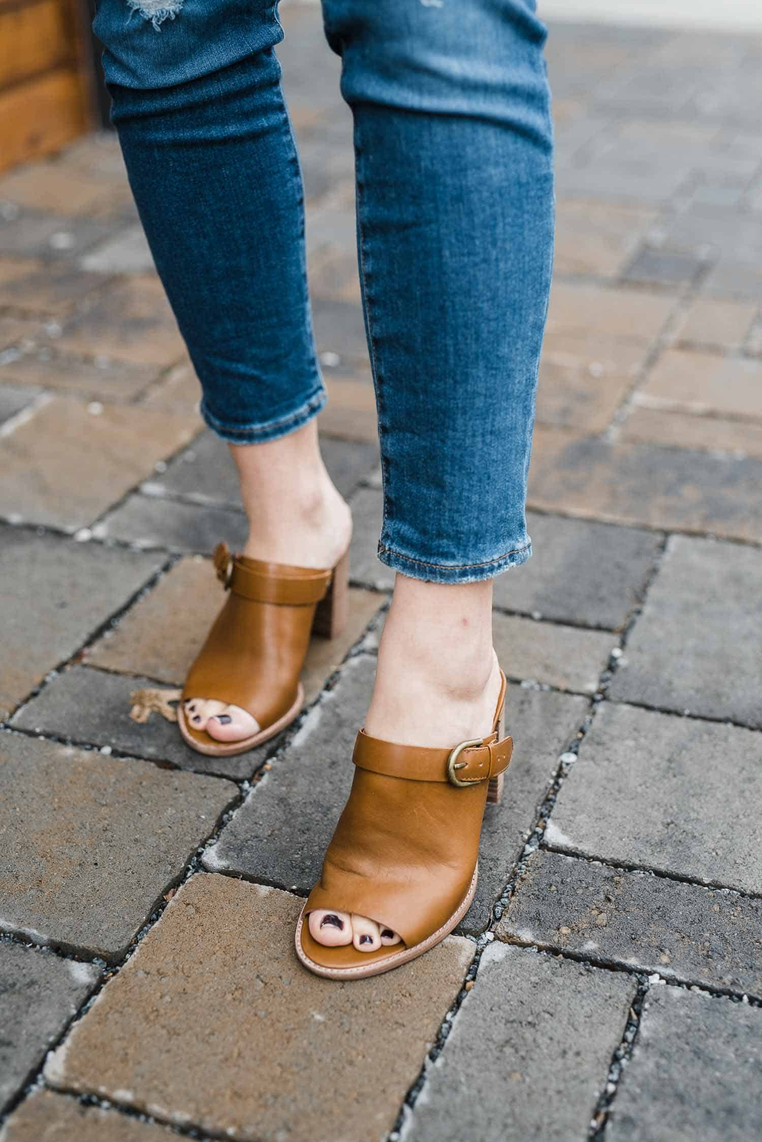 Madewell Mules, The Riley Convertible Slingback Mules