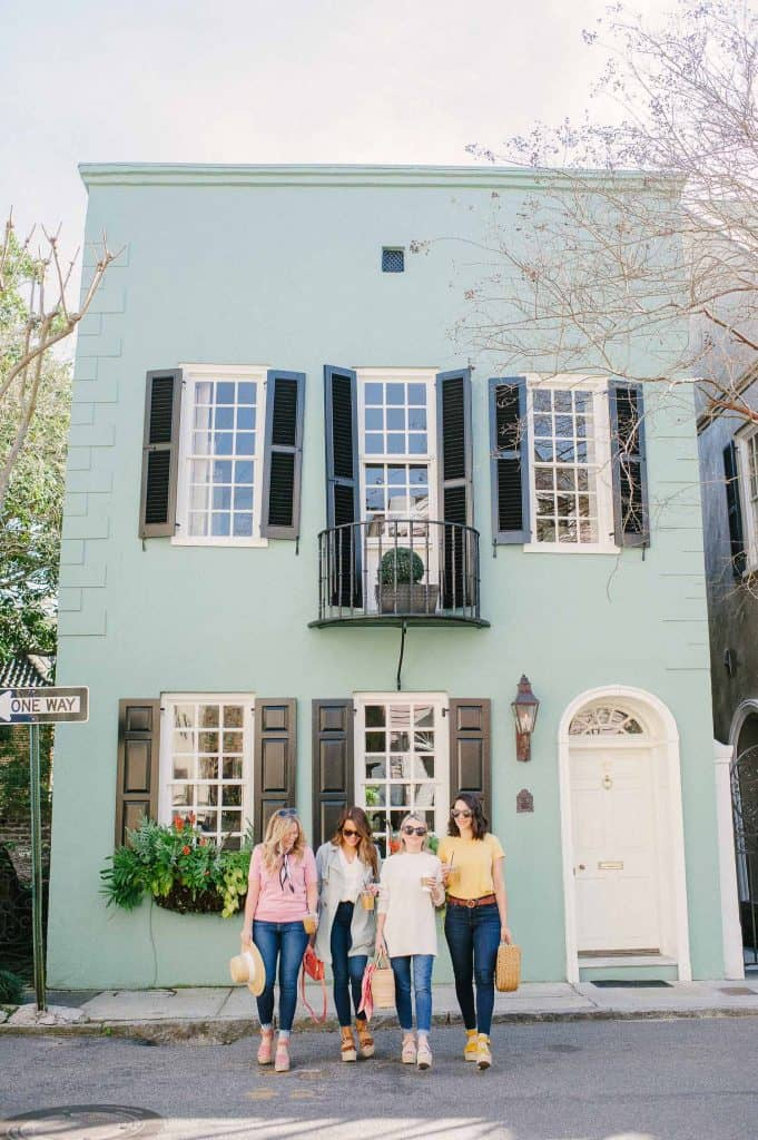 Friends at Charleston Wine + Food