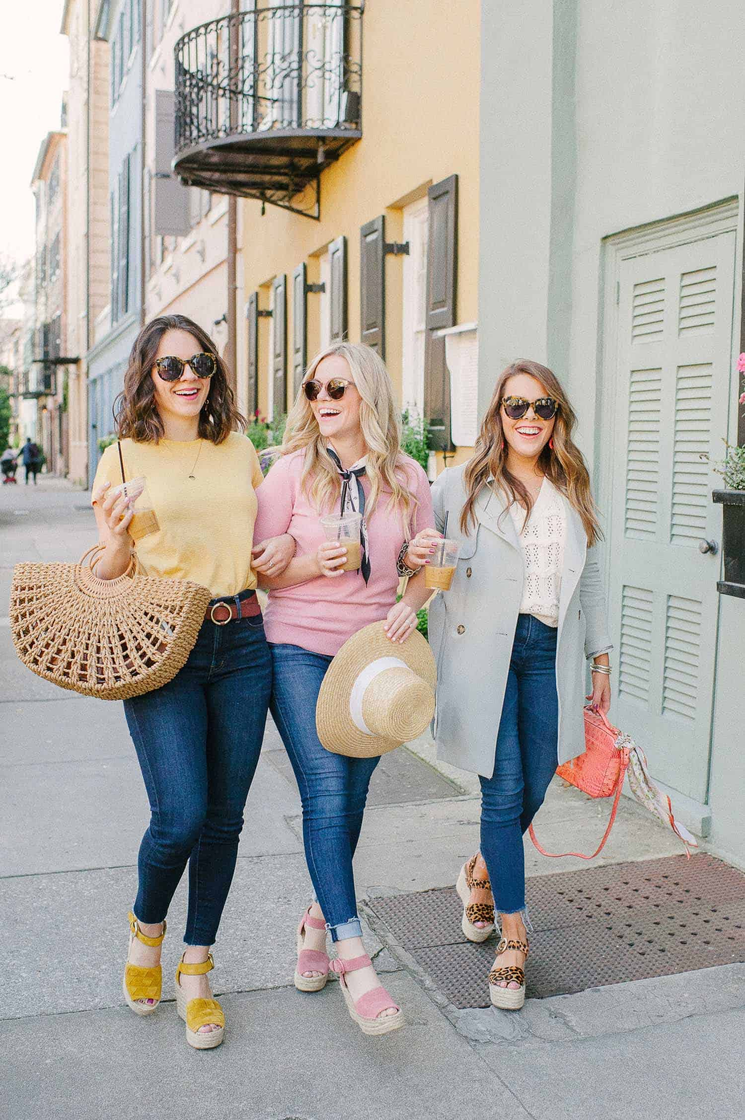 Friends outfit ideas in Charleston