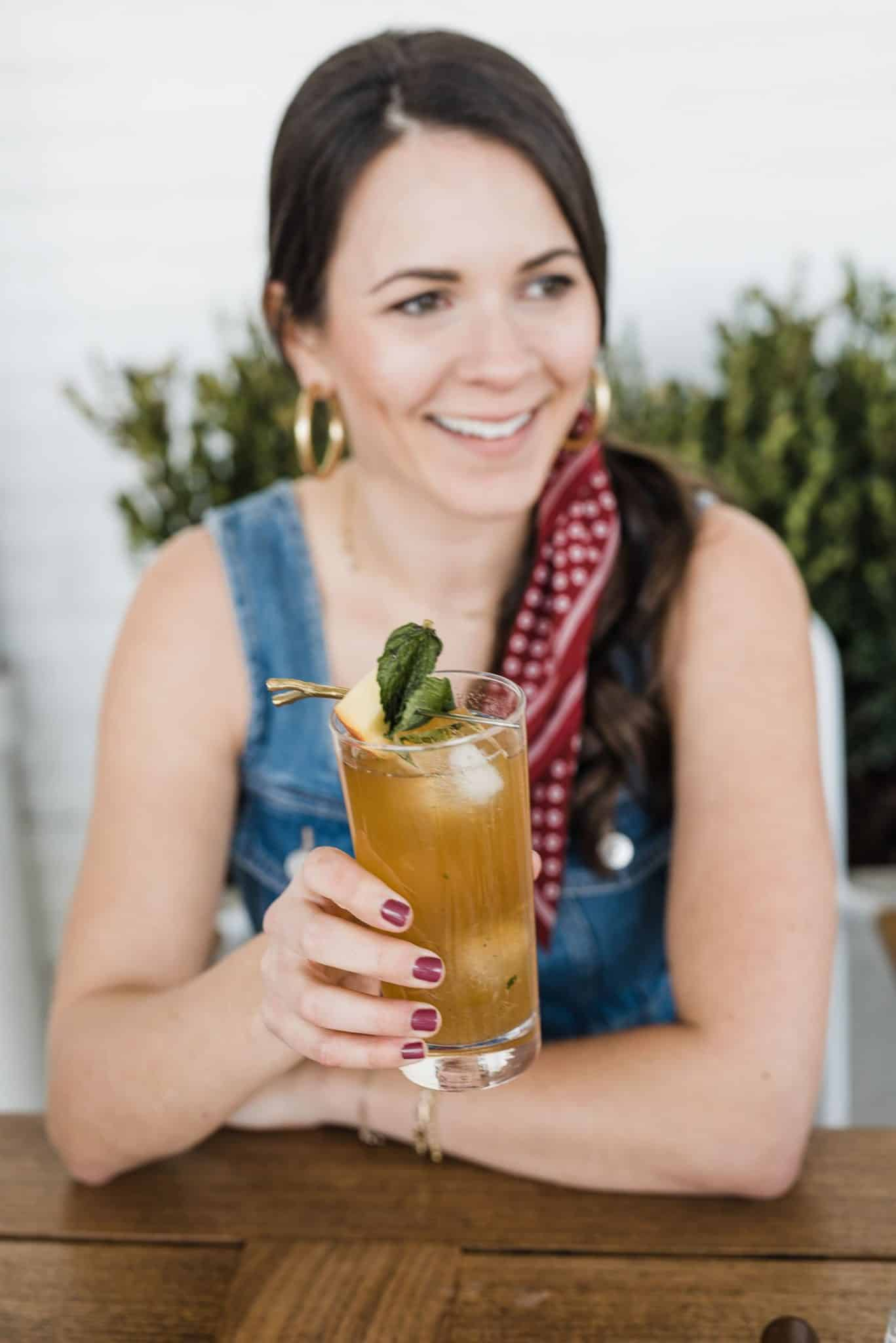 My Style Vita Is Sharing A Peach Mint Smash Cocktail Recipe With Coopers' Craft Bourbon