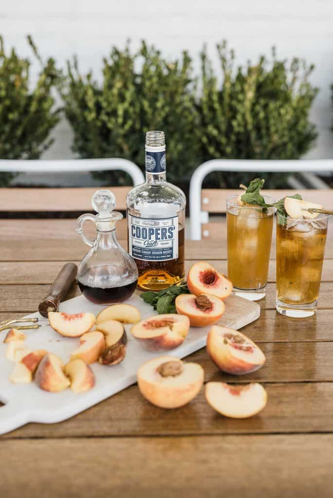 bourbon peach smash recipe