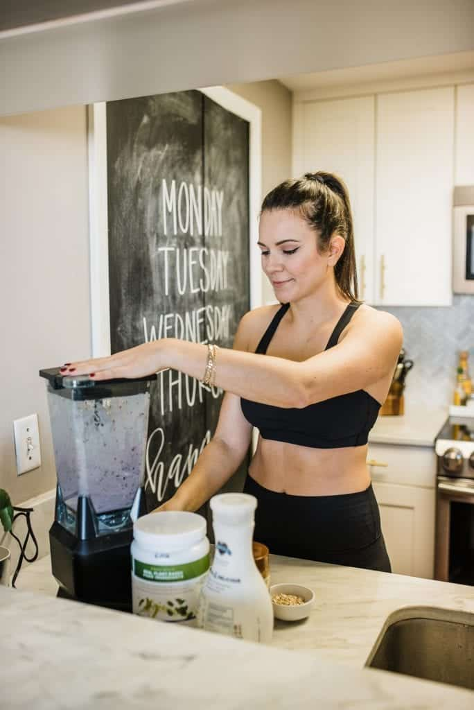 My Style Vita is sharing a delicious breakfast smoothie recipe with Vega Protein