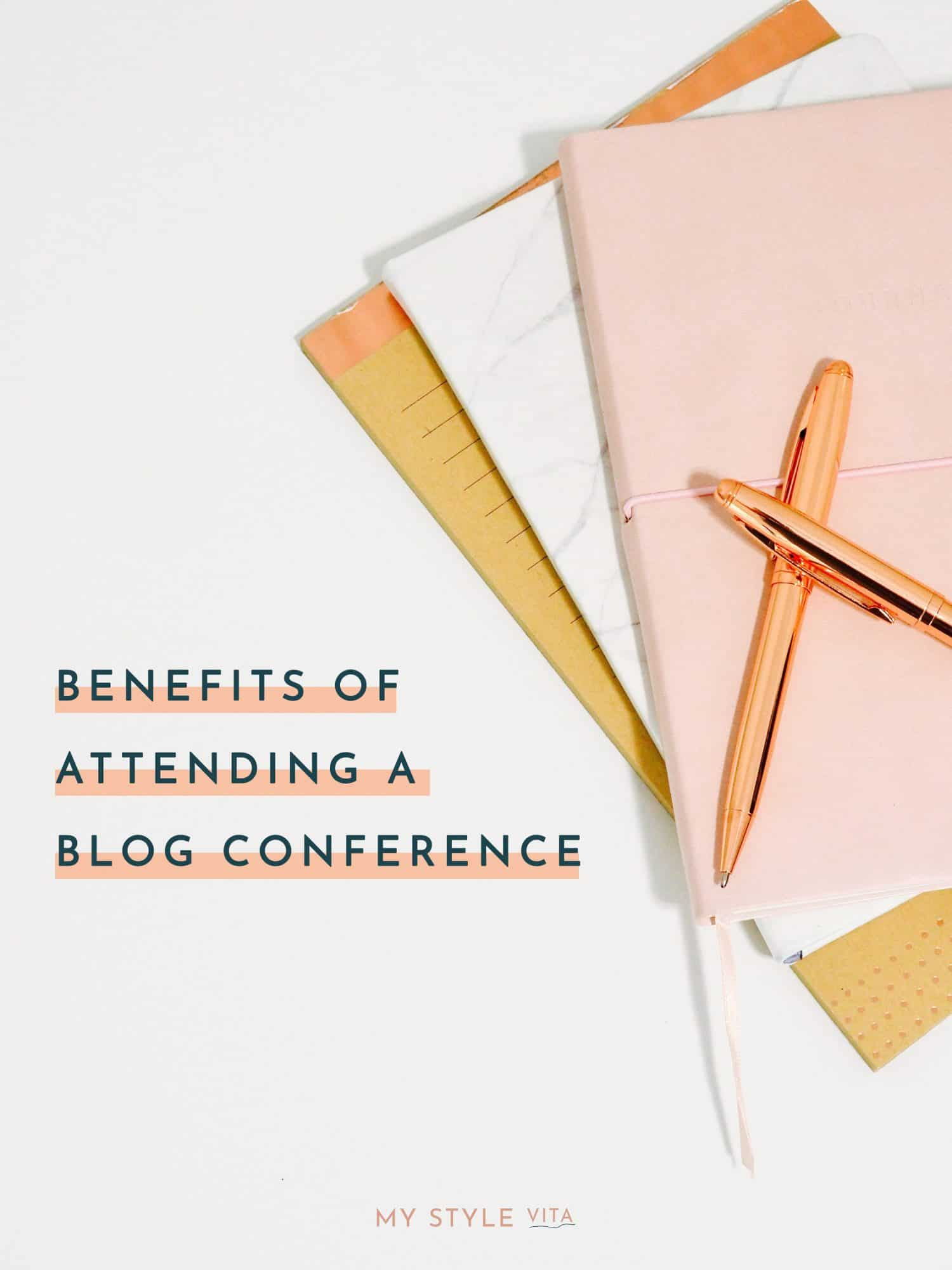 Benefits of attending a blog conference