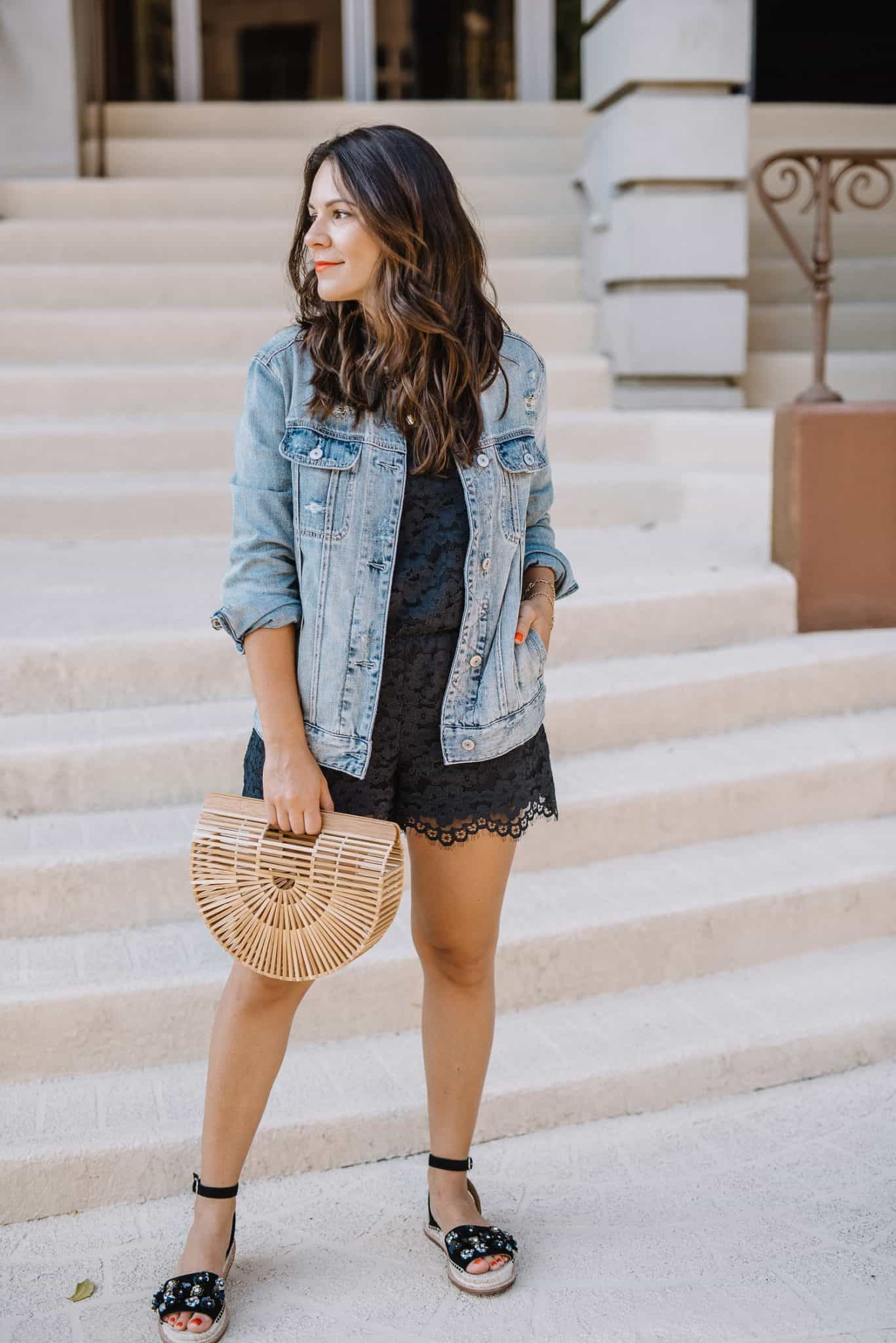 Black Romper - A Summer Outfit