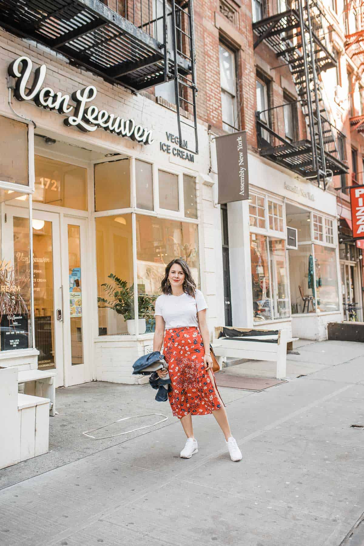 My Style Vita is sharing how to style midi skirts for spring