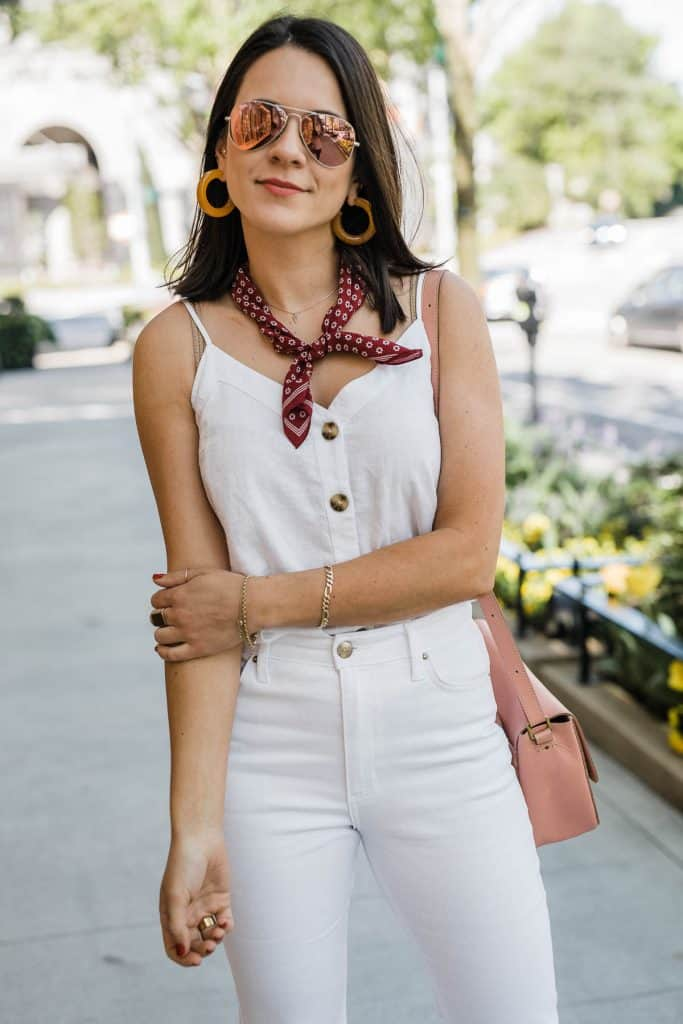 My Style Vita Is Sharing An White Outfit For Spring & Summer