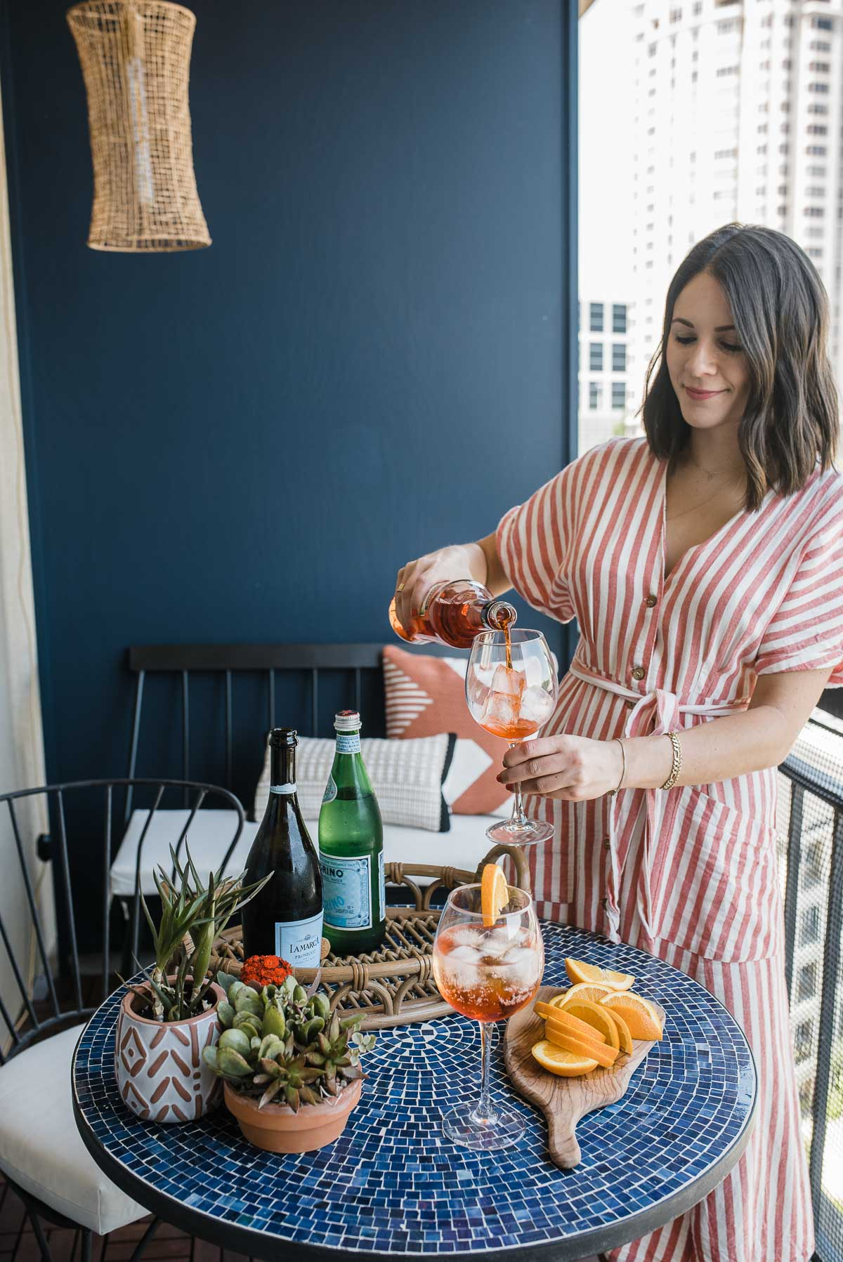Jessica Camerata is sharing an Aperol Spritz Recipe