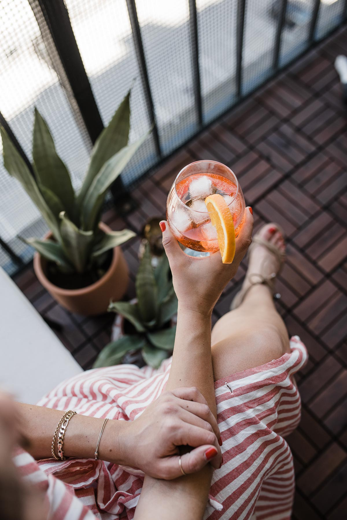 A Classic Summertime Cocktail, The Aperol Spritz